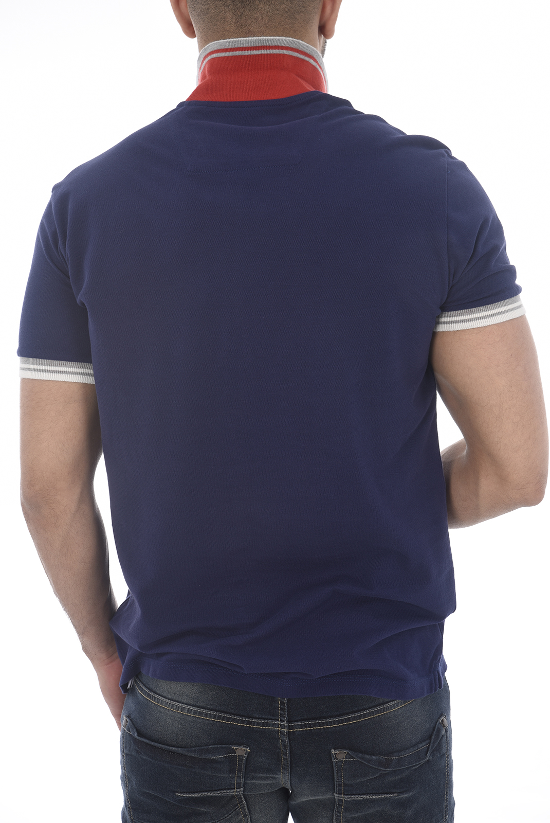 Polos manches courtes  Guess jeans U82I05 JR02F U138 COSMO BLUE