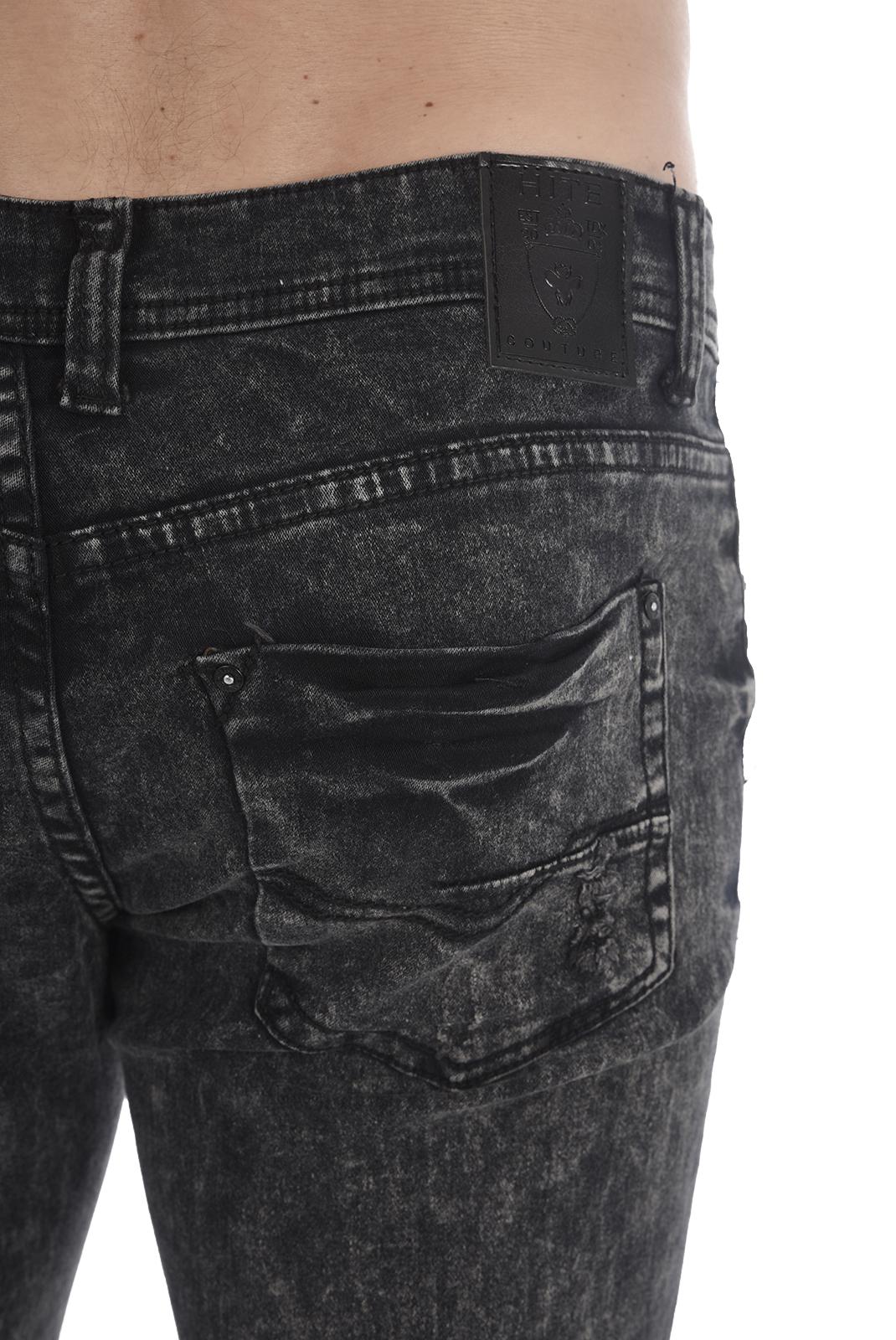 slim / skinny  Hite couture KEROMIT NOIR