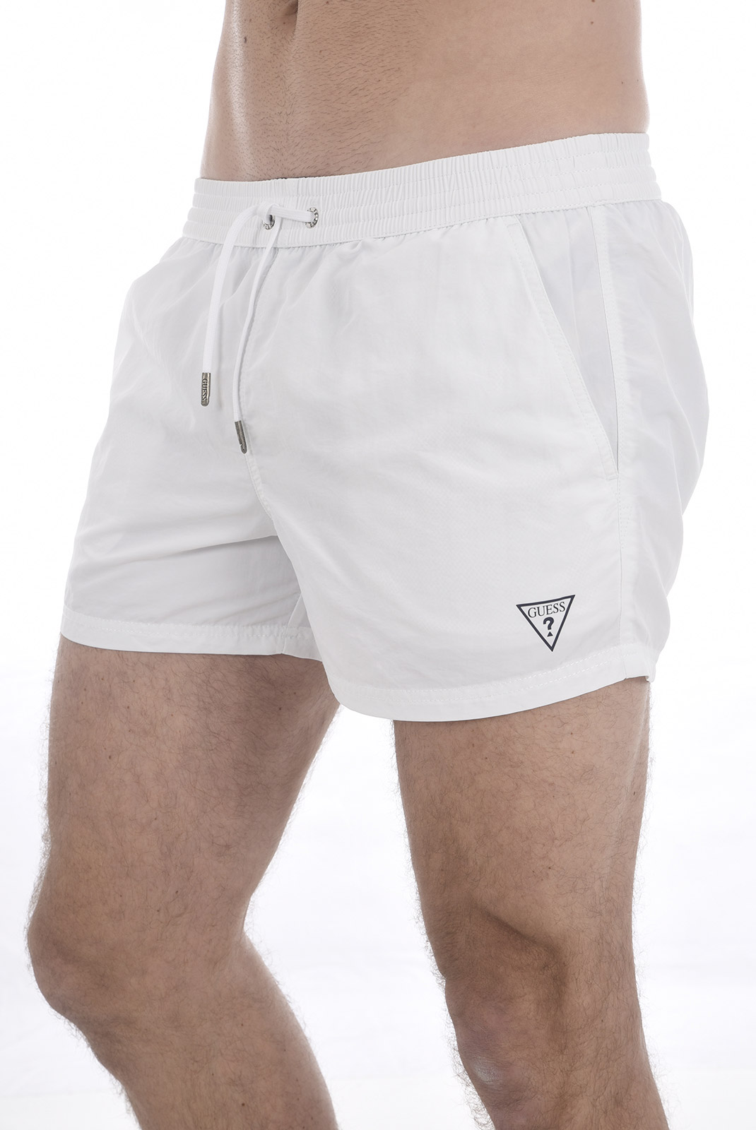 Shorts de bain  Guess jeans F82T00 TEL27 A009 OPTIC WHITE