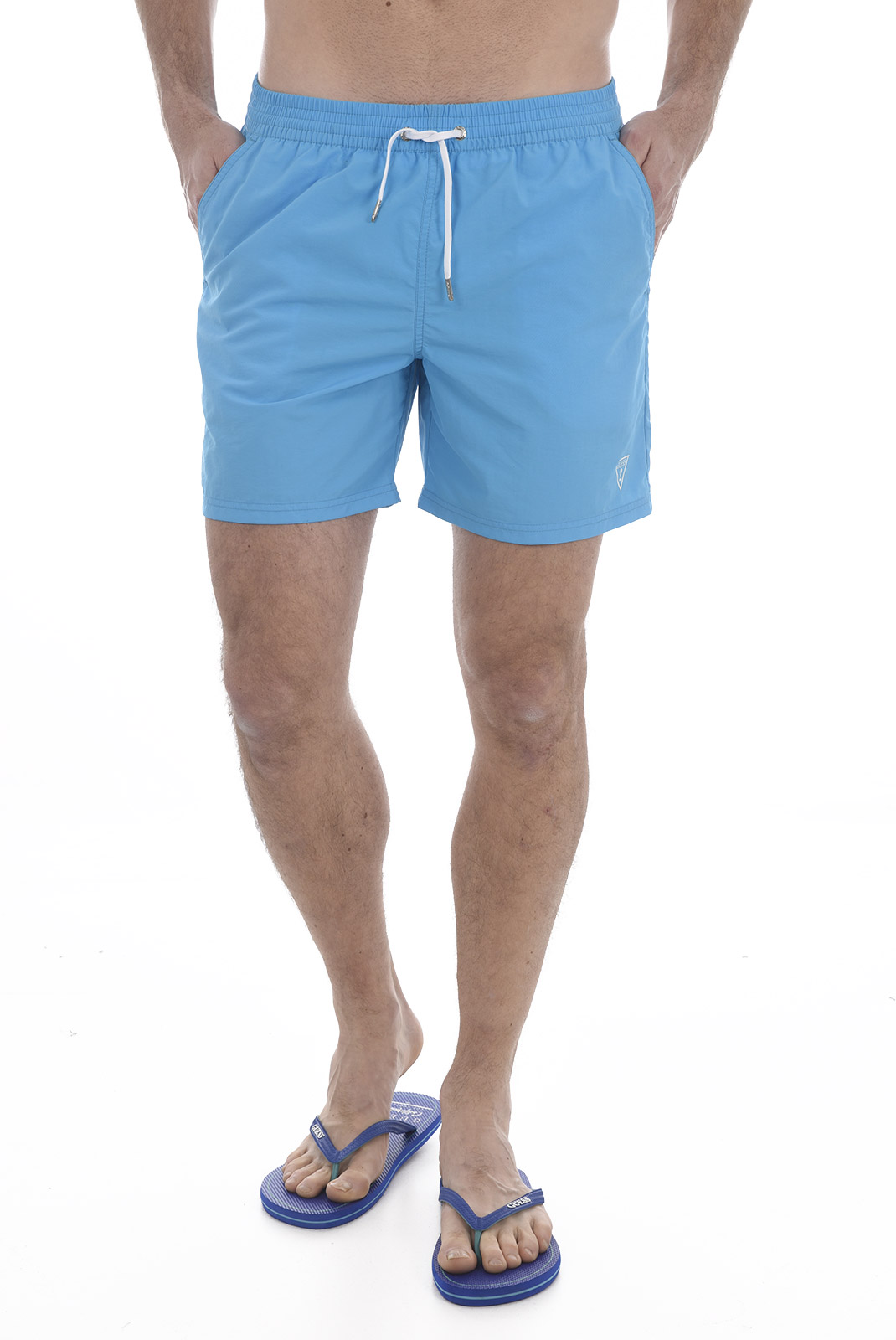 Shorts de bain  Guess jeans F82T01 TEL27 D485 BLUE