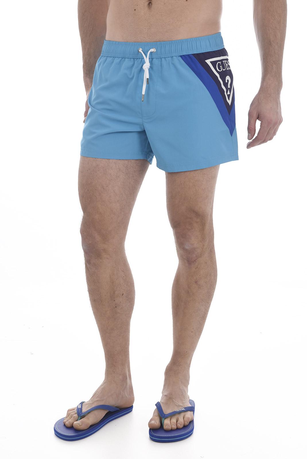 Shorts de bain  Guess jeans F81T00 TEL60 D485 BLUE