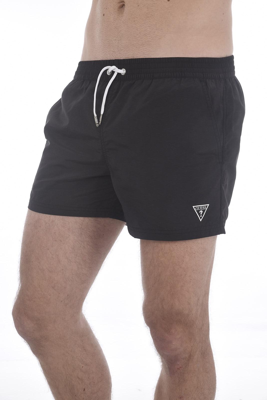 Shorts de bain  Guess jeans F82T00 TEL27 A996 BLACK