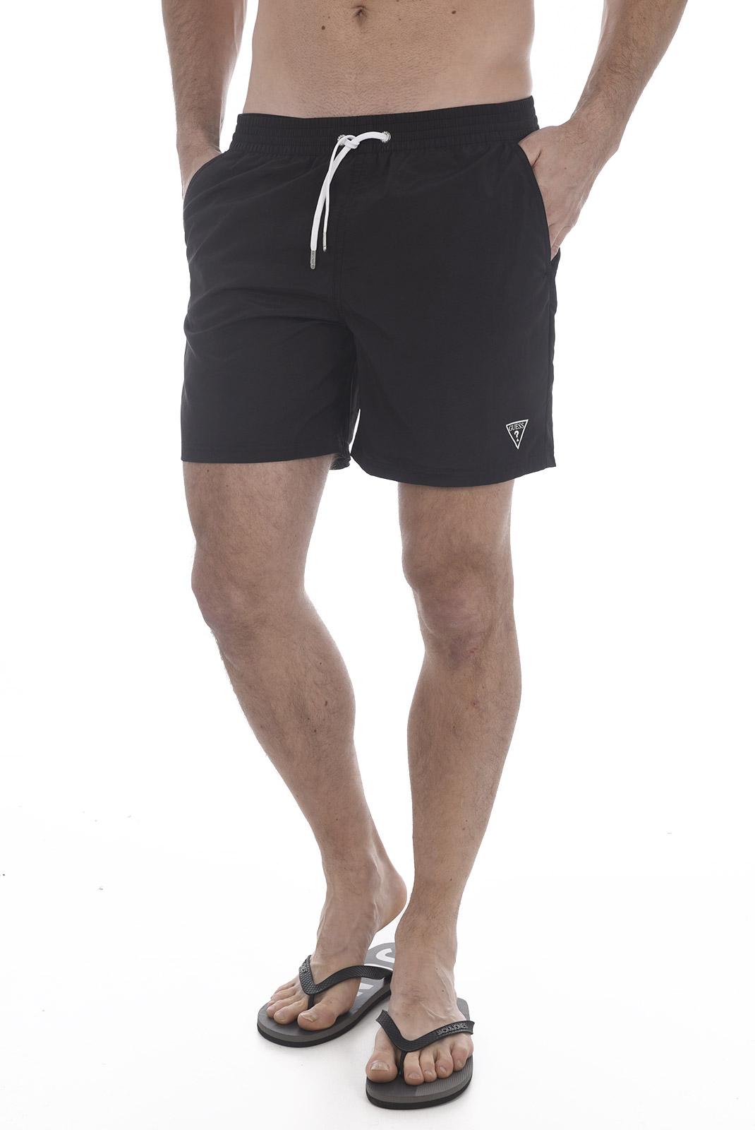 Shorts de bain  Guess jeans F82T01 TEL27 A996 BLACK