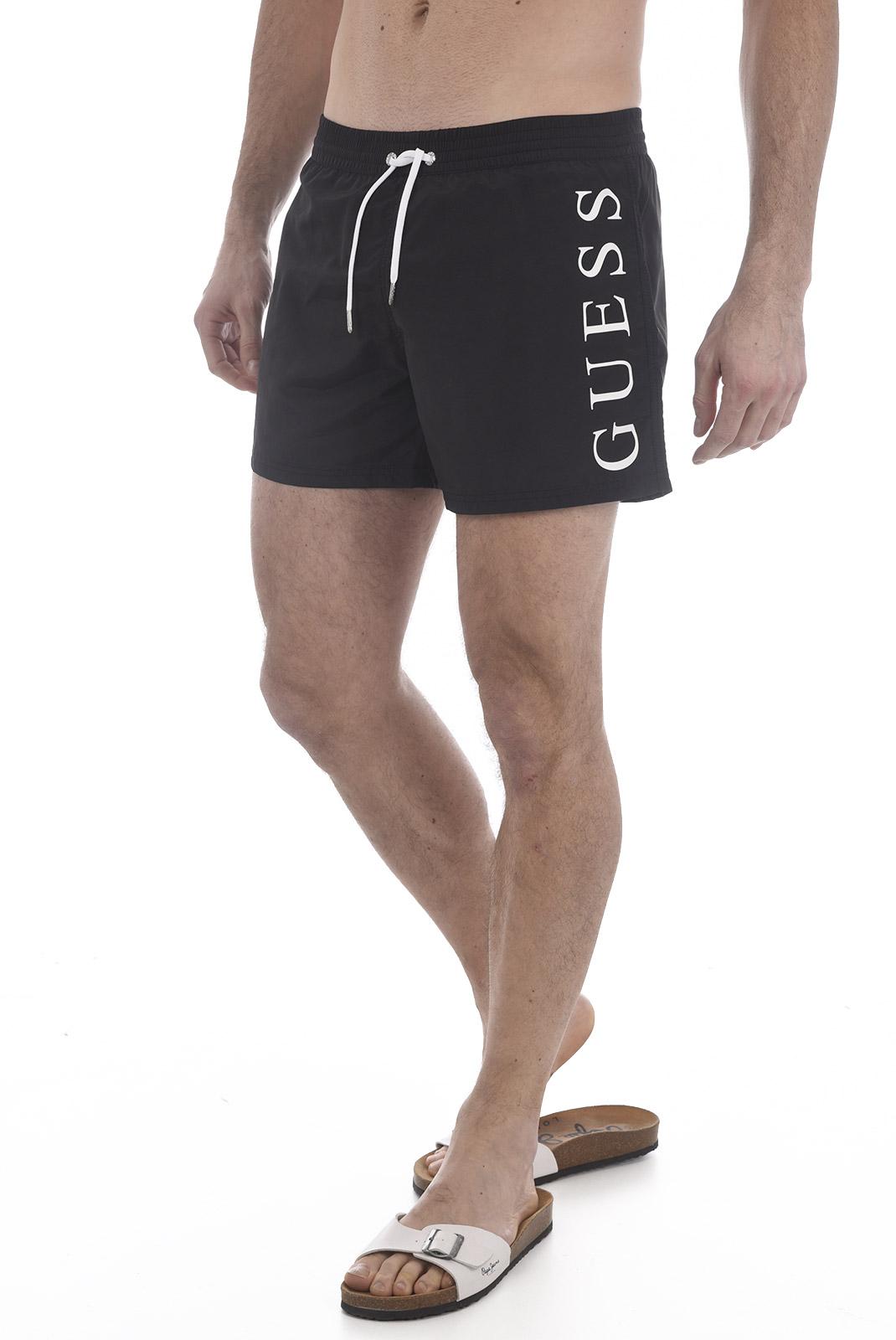 Shorts de bain  Guess jeans F82T02 TEL27 A996 BLACK