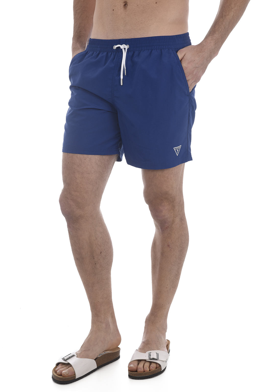 Shorts de bain  Guess jeans F82T01 TEL27 A743 Electric BLUE