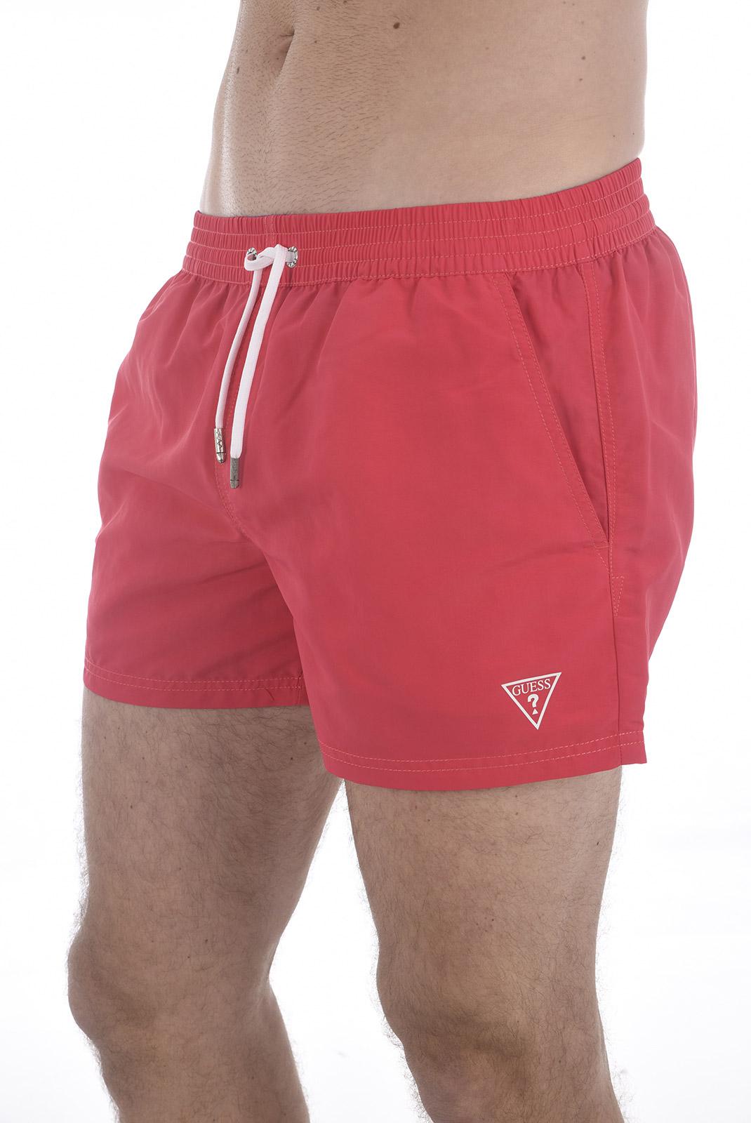 Shorts de bain  Guess jeans F82T00 TEL27 TORCH PINK