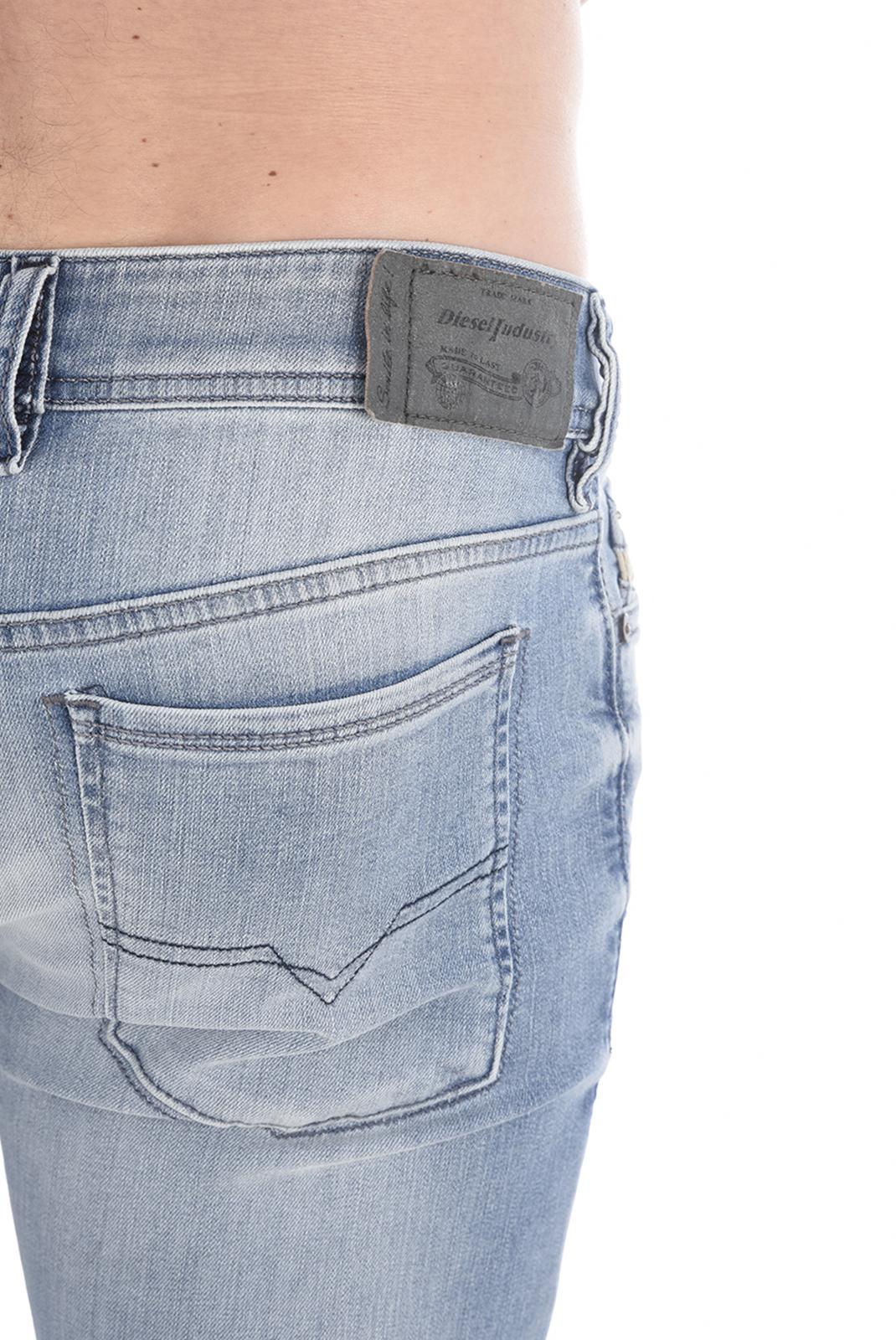 Jeans  Diesel SLEENKER 0673E BLEU