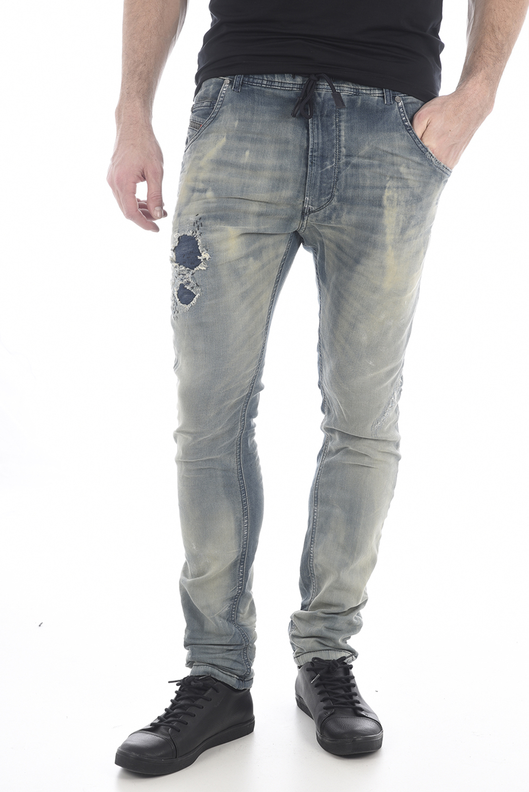 Jeans  Diesel KROOLEY 0672F BLEU
