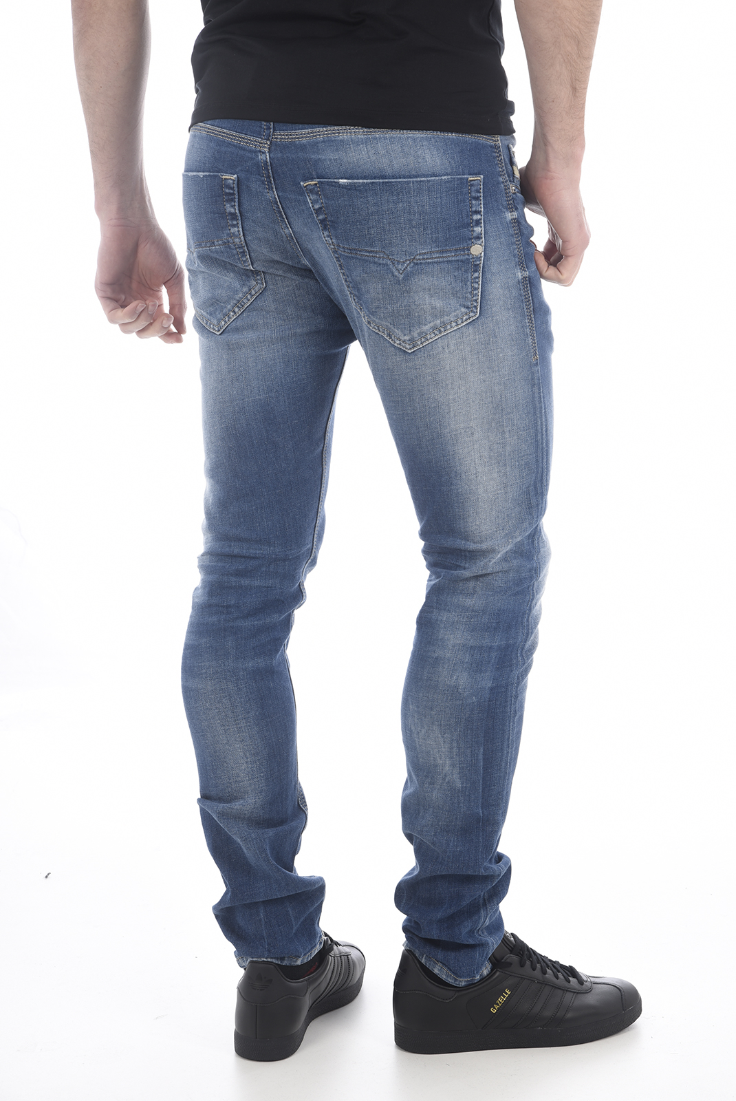 Jeans  Diesel TEPPHAR 0859R BLEU