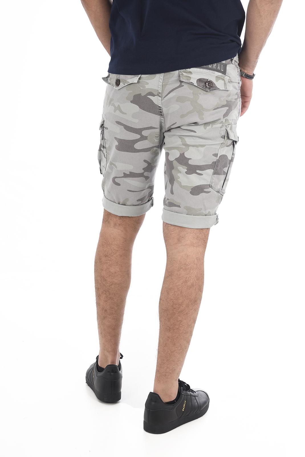 Shorts & Bermudas  Kaporal JEAMS GRIS CAMOU