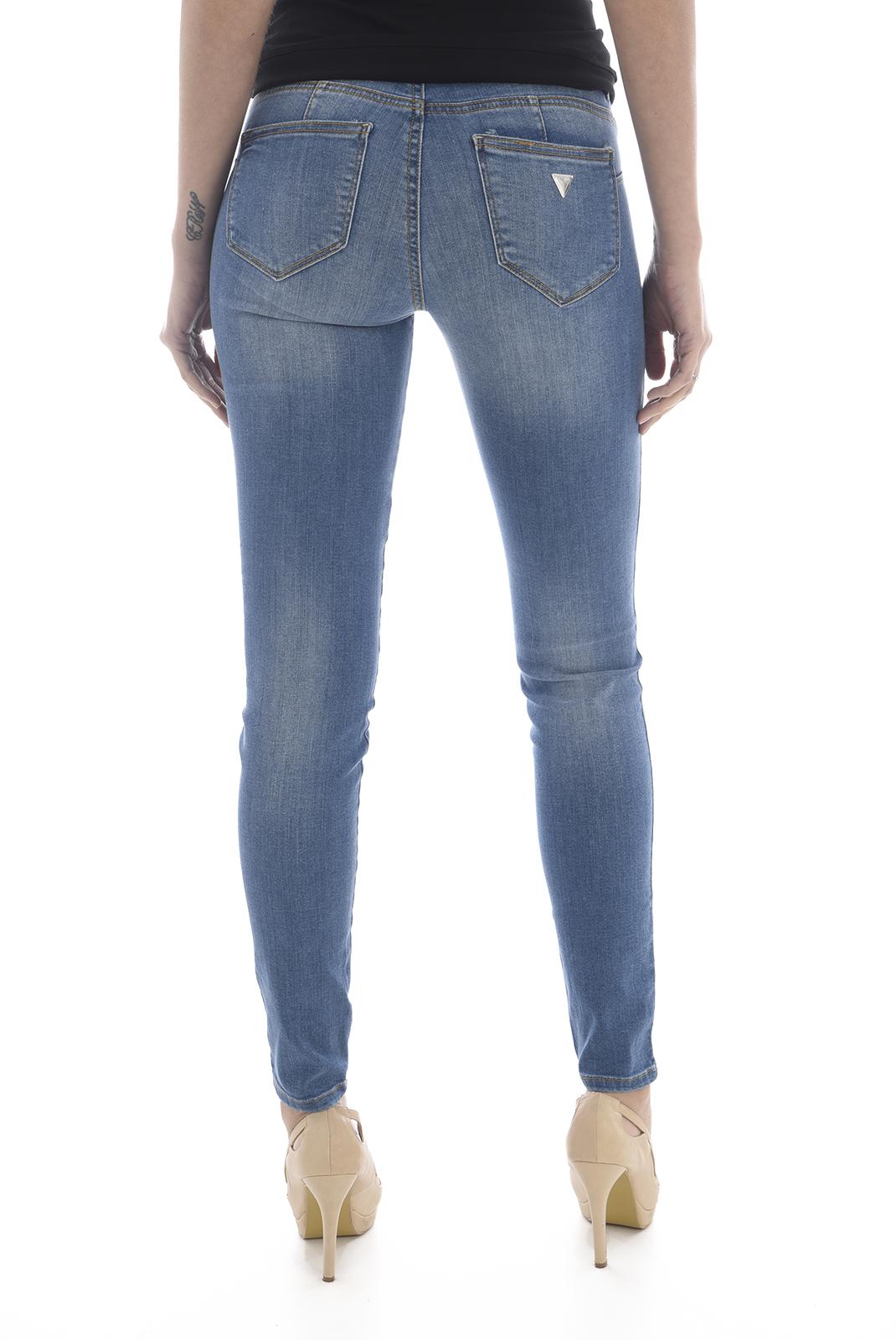 Jeans   Guess jeans W82AJ2 D32B0 PALM BLUE