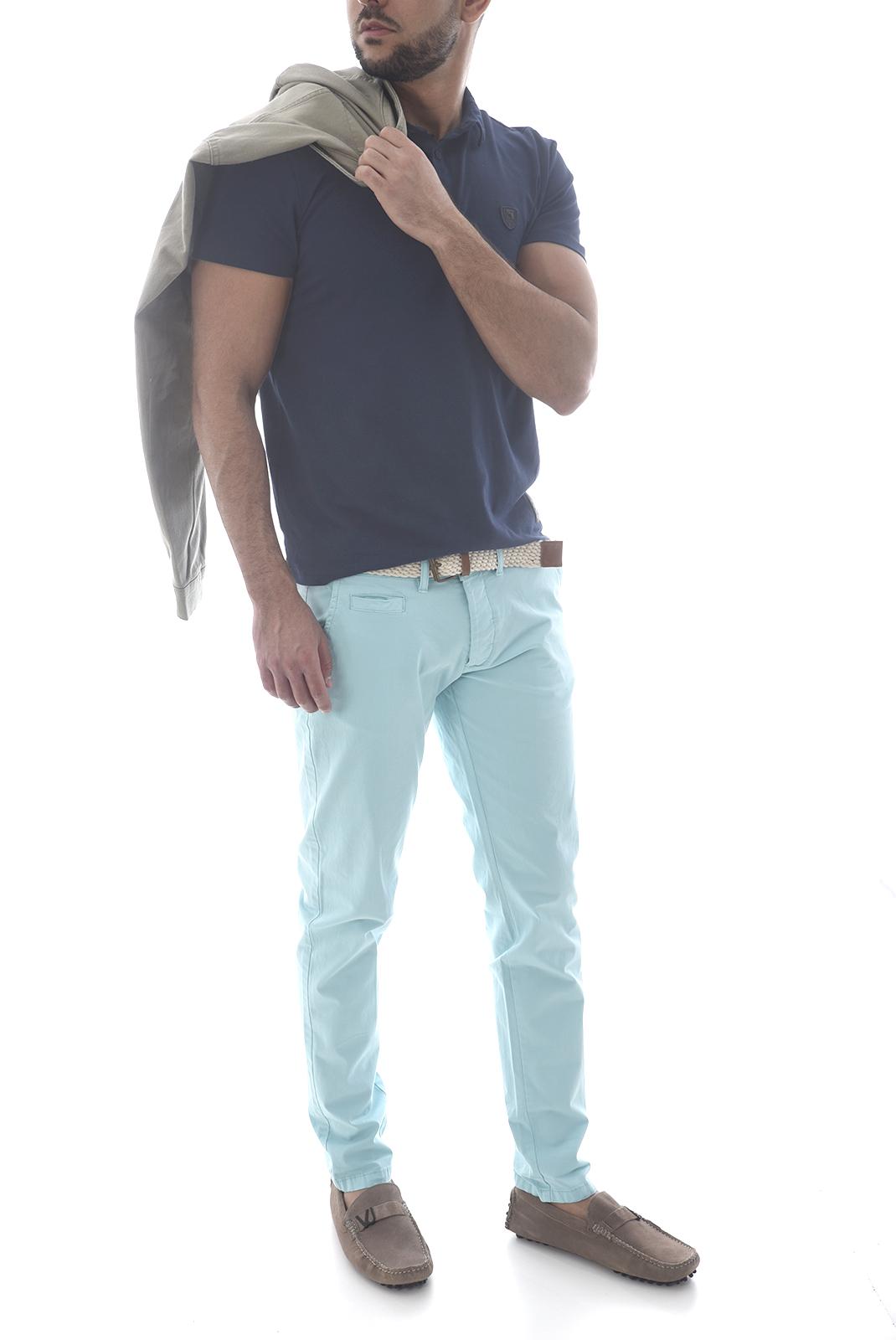 Pantalons chino/citadin  Backlight ALLEN CIEL AQUA