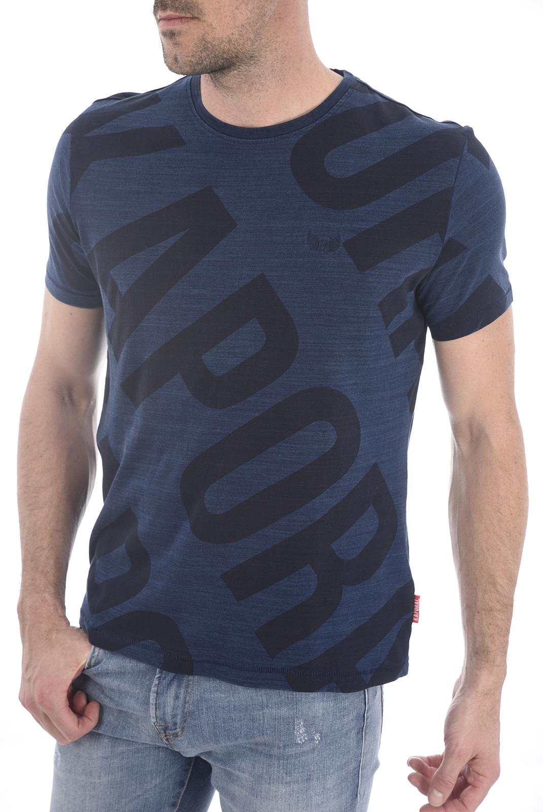 Tee-shirts  Kaporal HOBBO BLUE US