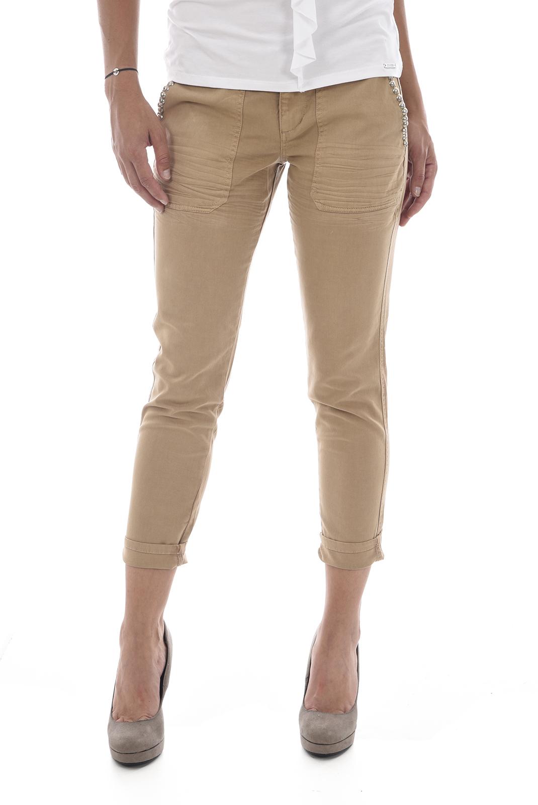 Pantalons  Guess jeans W72B47 W5DXE B172 EGYPTIAN SAND