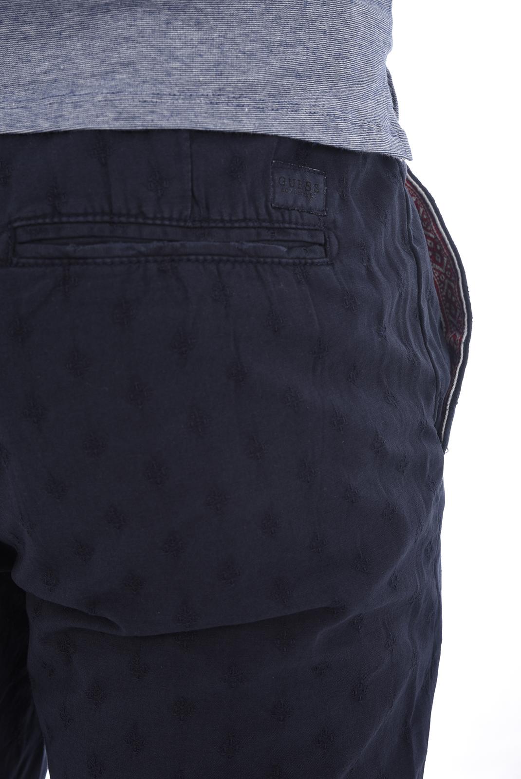 Pantalons chino/citadin  Guess jeans M82B10 W9VA0 G720 BLEU