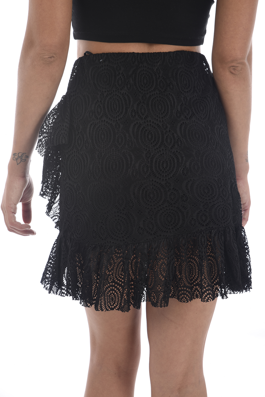 Jupes  Vero moda LIDA SHORT SKIRT D2-3 BLACK