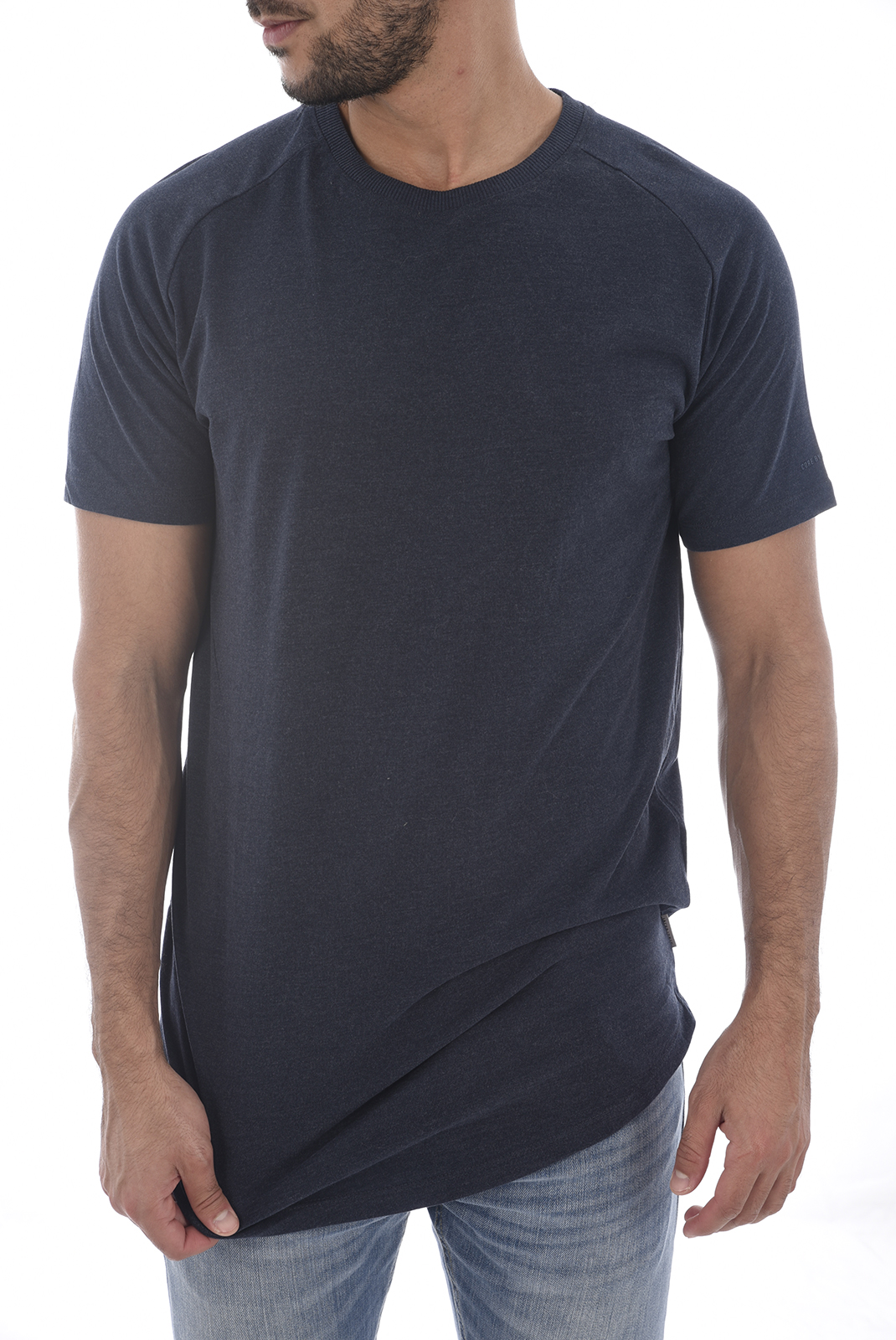 Tee-shirts  Jack & Jones RAFE TEE SKY CAPTAIN