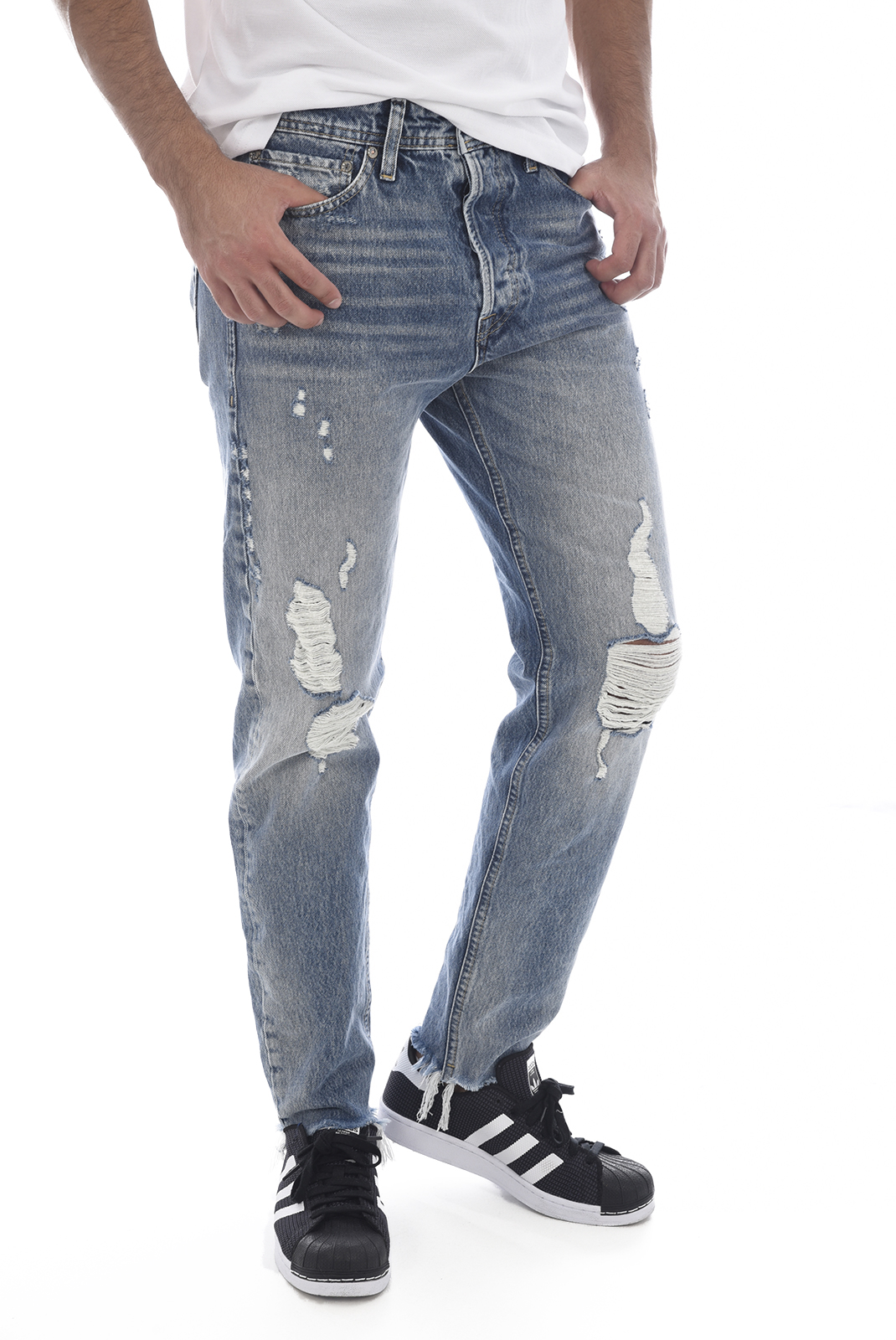 Jeans  Jack & Jones FRED ORIGINAL 065 DENIM