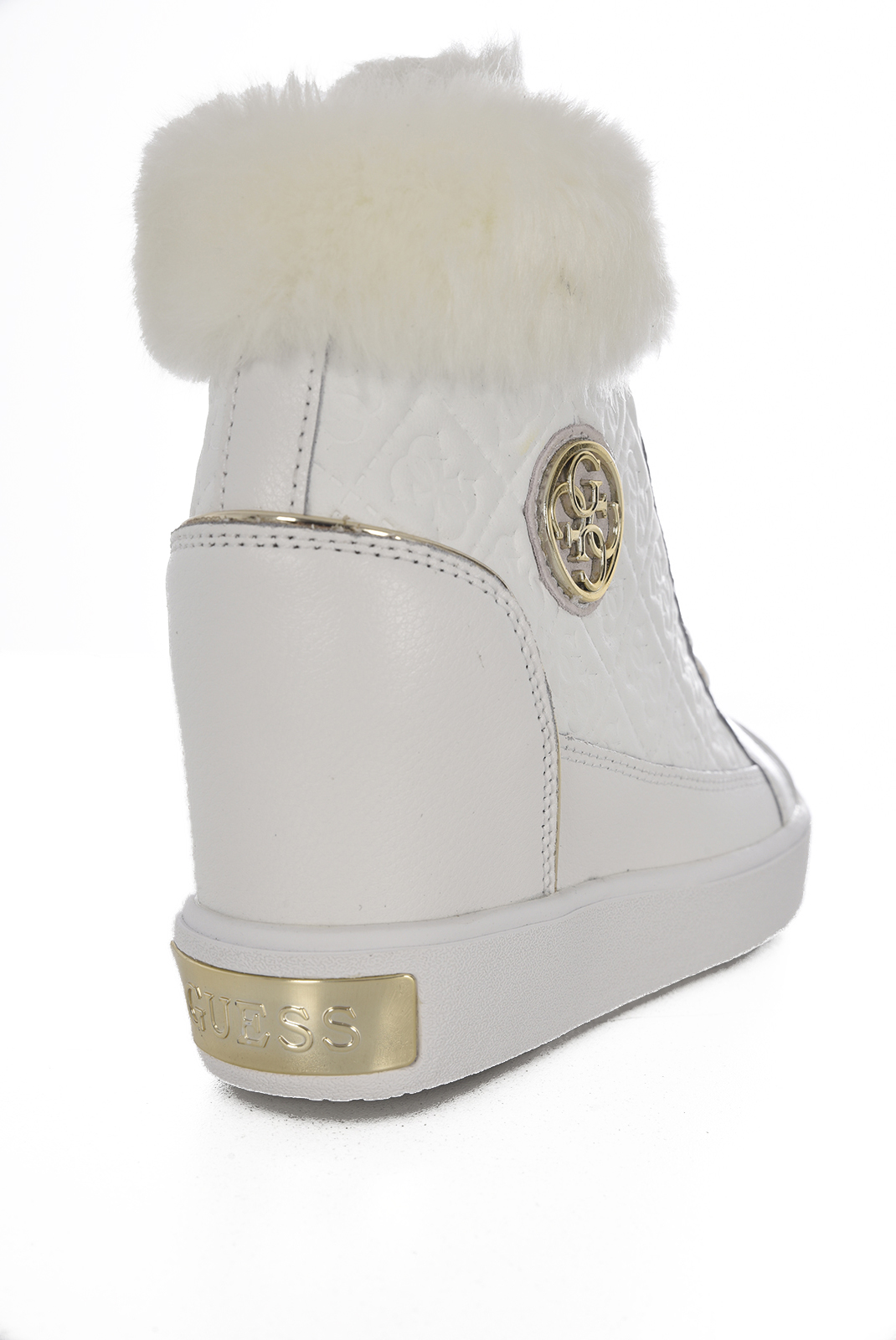 Baskets / Sneakers  Guess jeans FURR FLFRR3 LEP12 WHITE