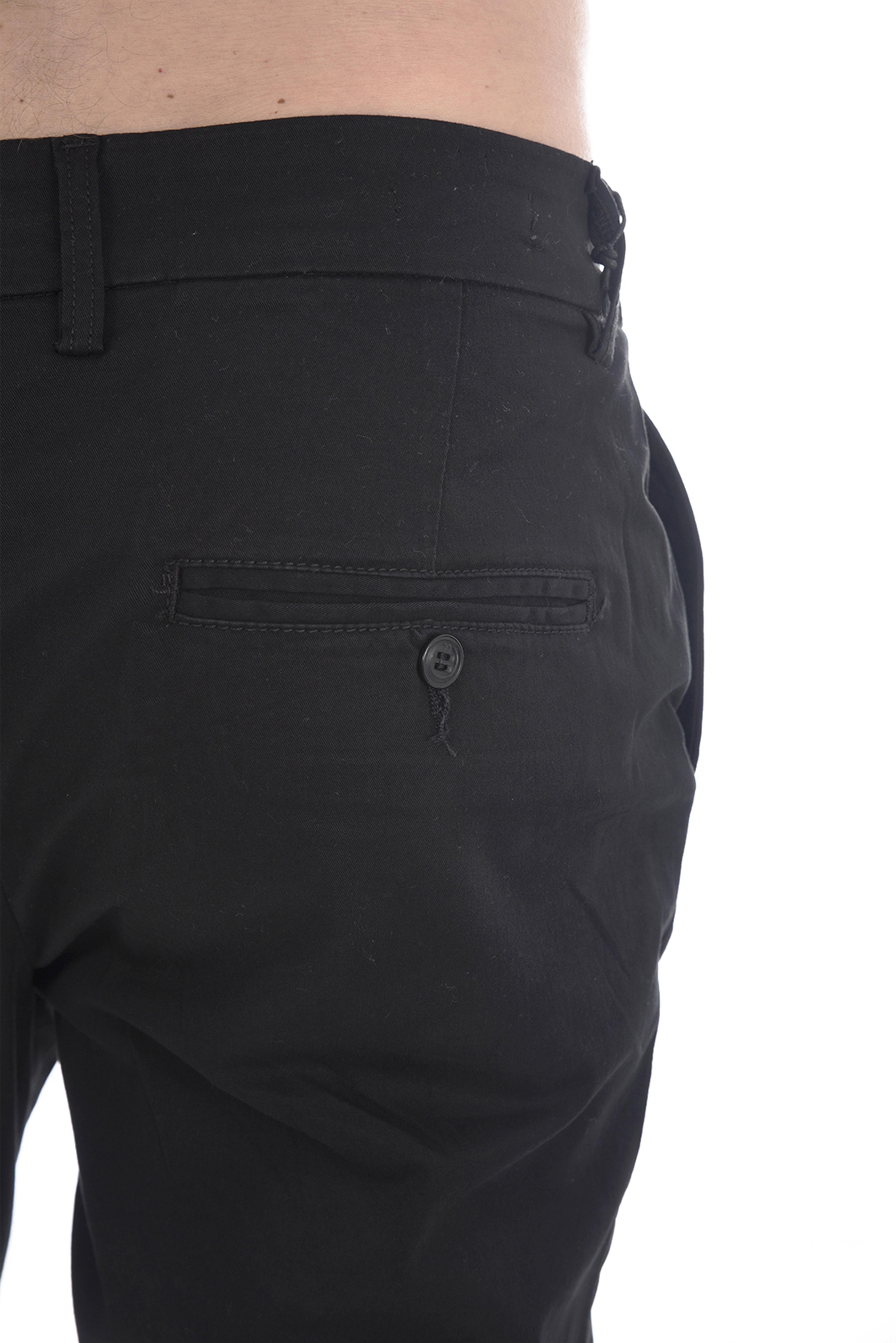 Pantalons chino/citadin  Jack & Jones ROBERT CAM AKM BLACK