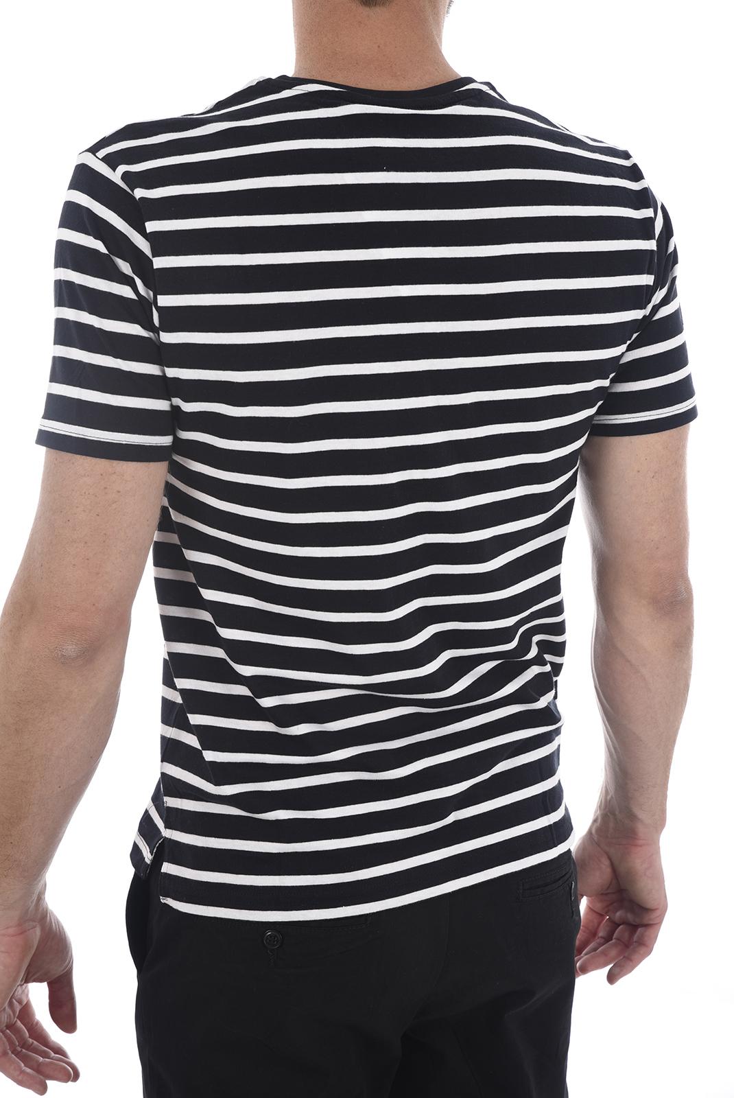 Tee-shirts  Apologize 002M NAVY/WHITE