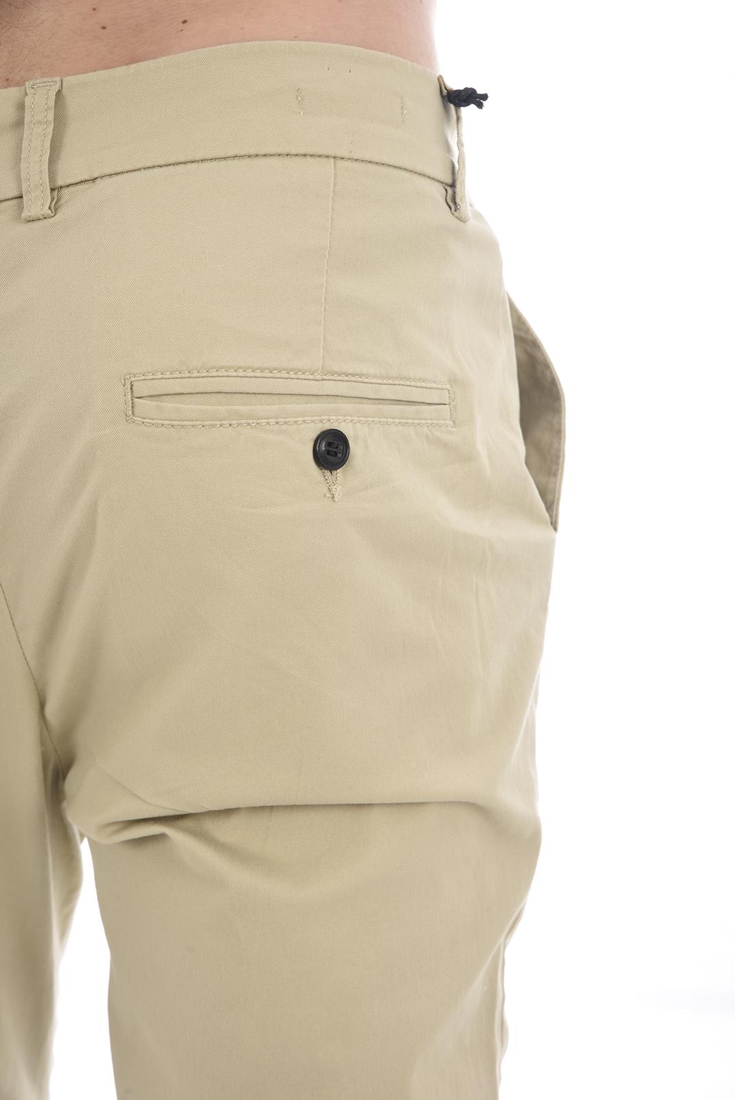 Pantalons chino/citadin  Jack & Jones ROBERT CAM AKM WHITE PEPPER