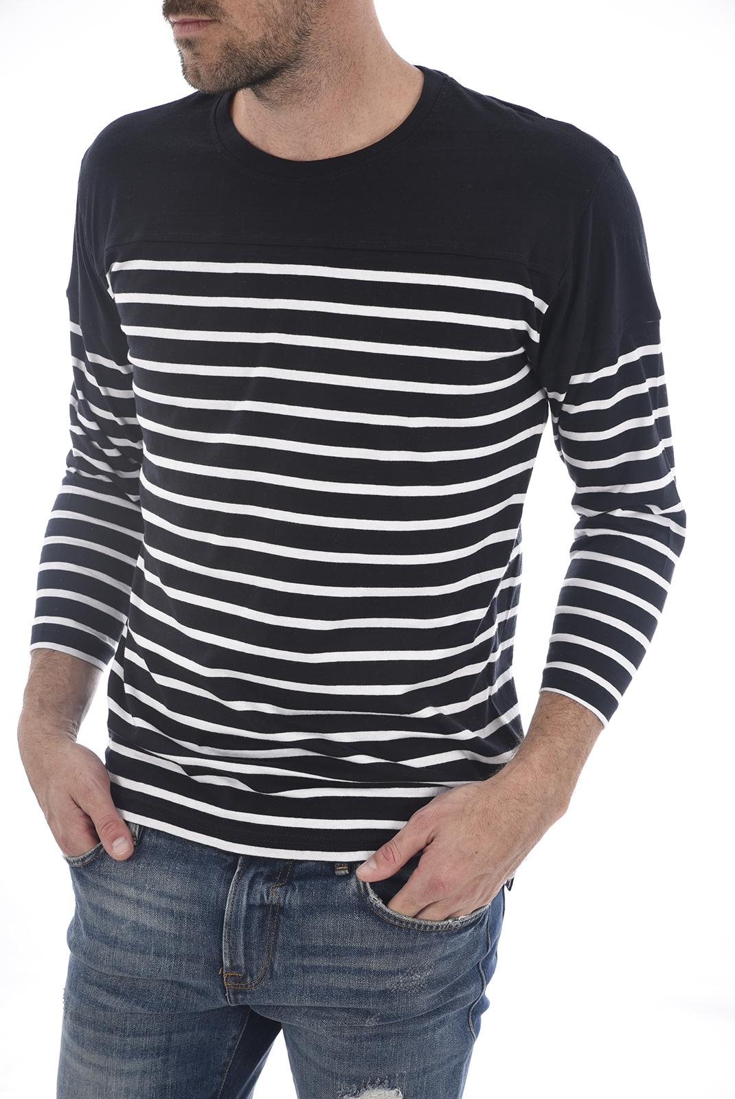 Tee-shirts  Apologize 001M NAVY/WHITE