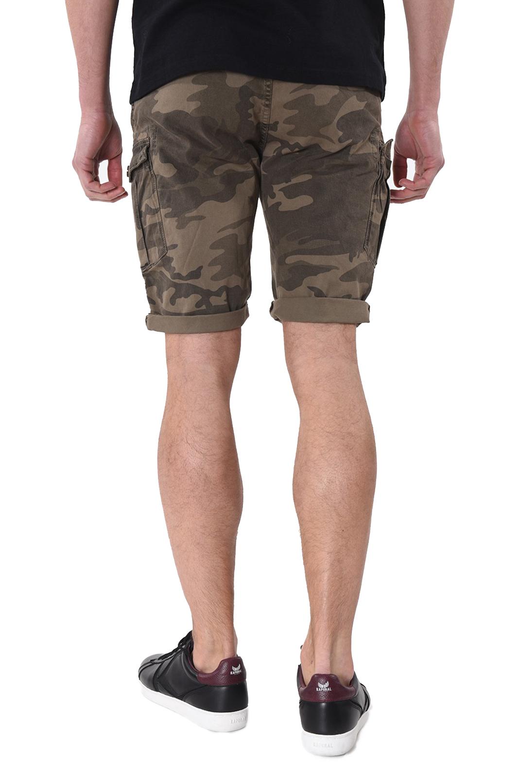 Shorts & Bermudas  Kaporal JEAMS GREEN CAMOU