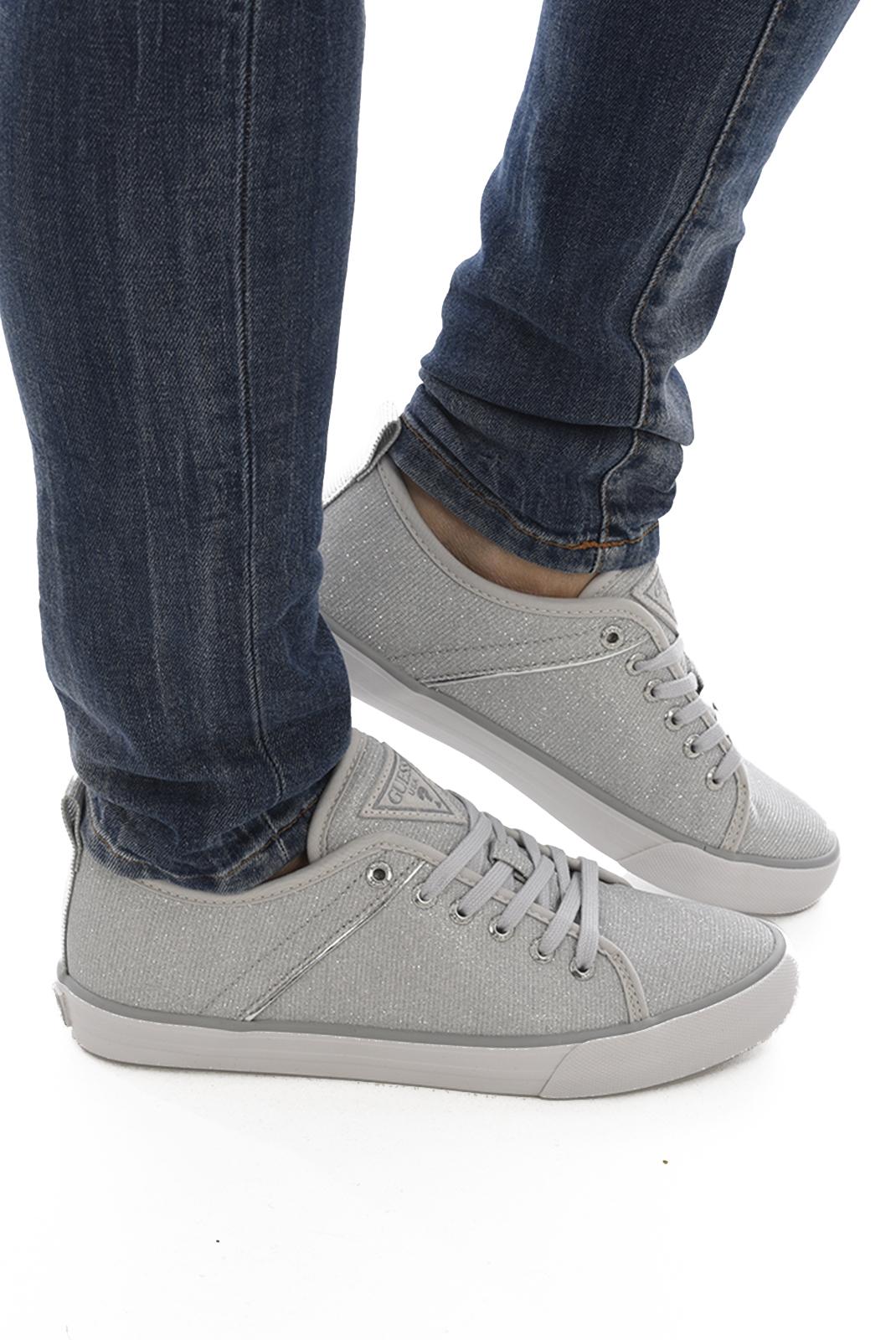 Baskets / Sneakers  Guess jeans JOLIE FLJOI3 FAM12 ARGENT