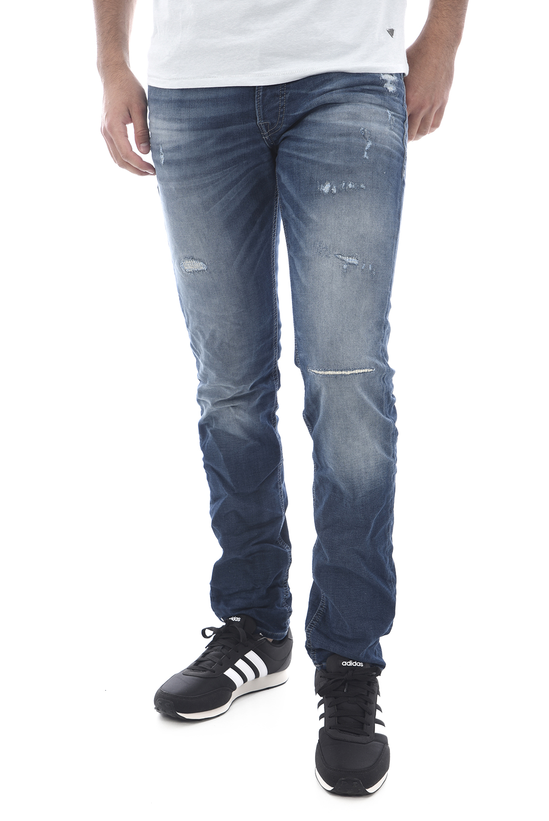 Jeans  Jack & Jones GLENN ORIGINAL JOS 118 BLUE DENIM