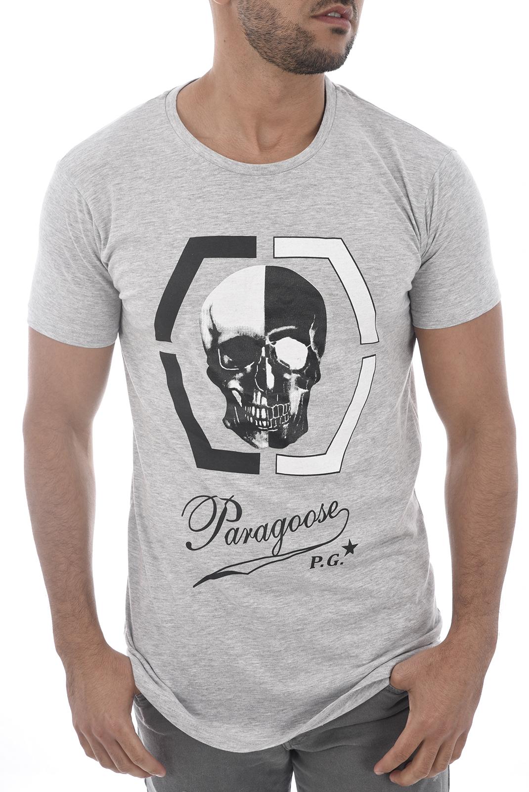 Tee-shirts  Paragoose CHESS GRIS