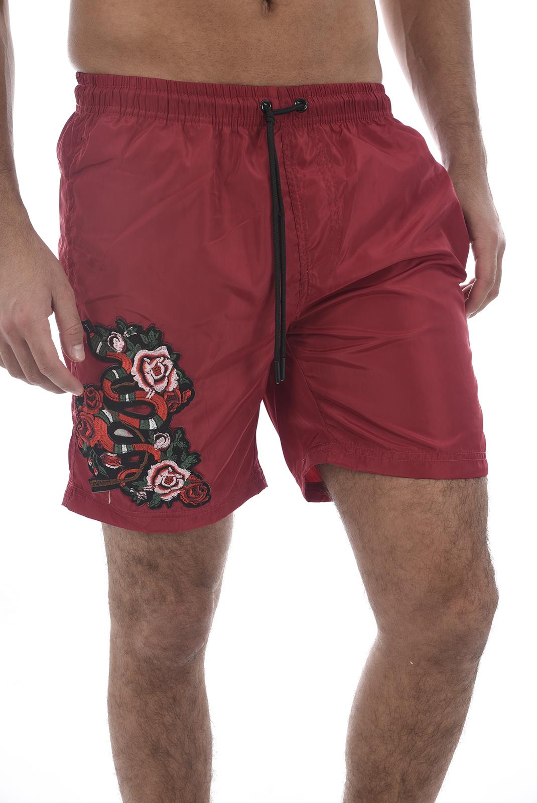 Shorts de bain  Hite couture ZANIER ROUGE