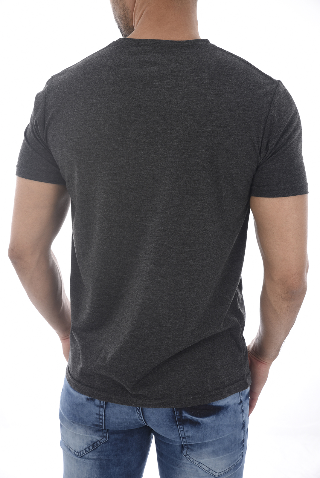 Tee-shirts  Versace 19.69 FORLI GRIS FONCE