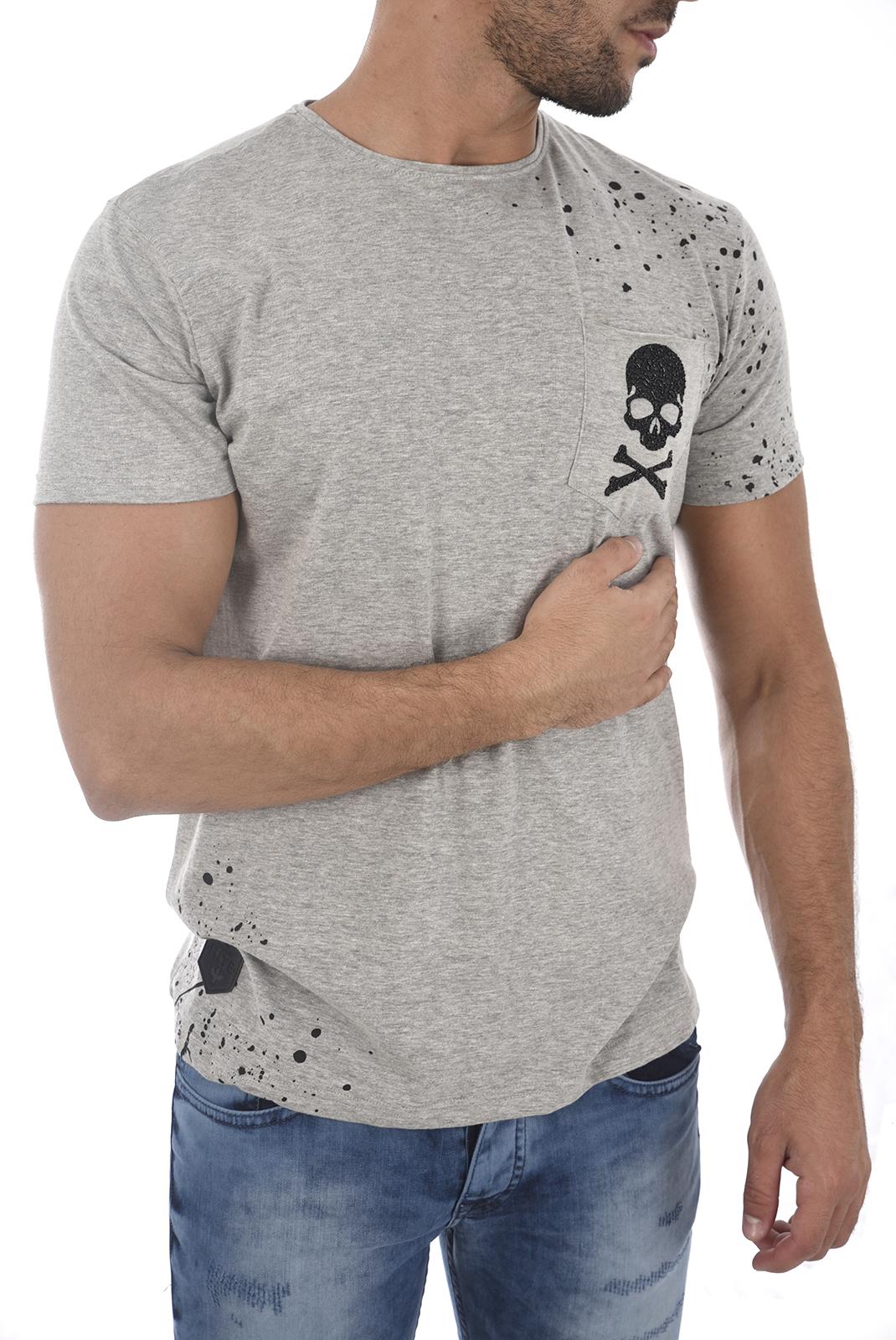 Tee-shirts  Hite couture MAKER LT GREY MEL