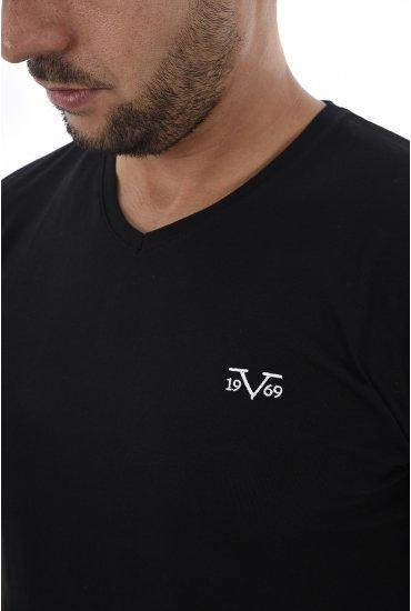 Tee-shirts HOMME 19V69 by Versace 1969 MODENE NOIR 23a1f06b441