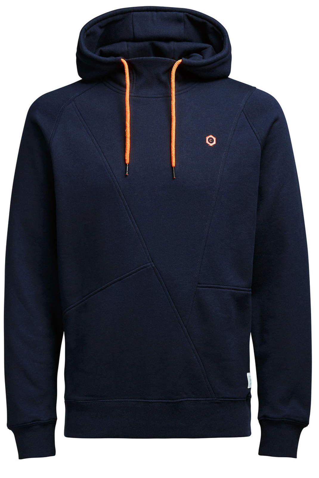 Sweatshirts  Jack & Jones PINN SWEAT HOOD NOOS NAVY BLAZER