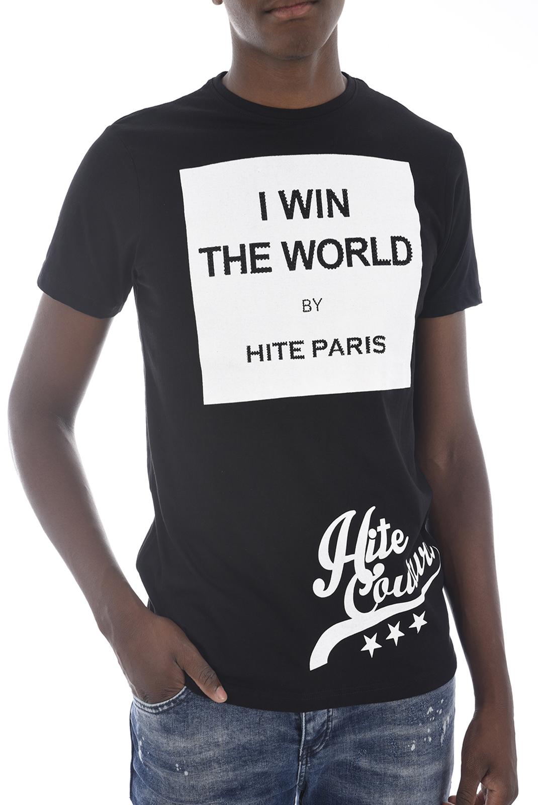 Tee-shirts  Hite couture MERIVER NOIR