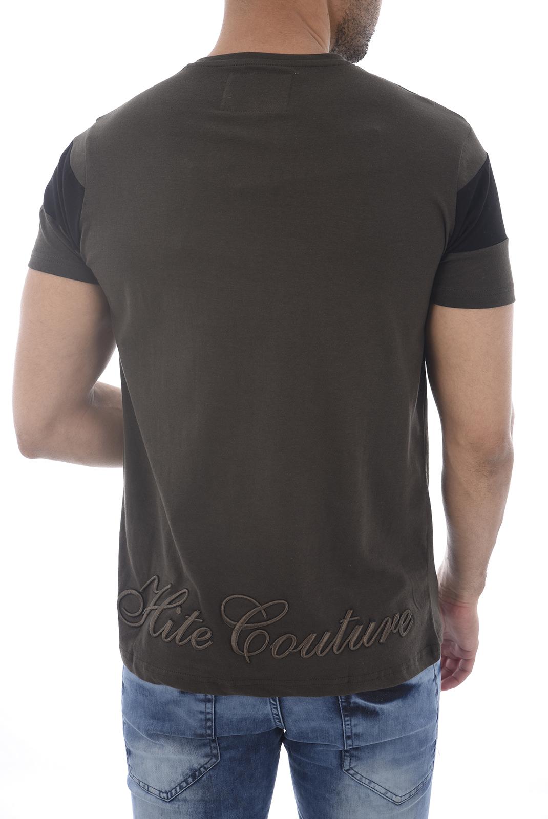 Tee-shirts  Hite couture MIXER KAKI