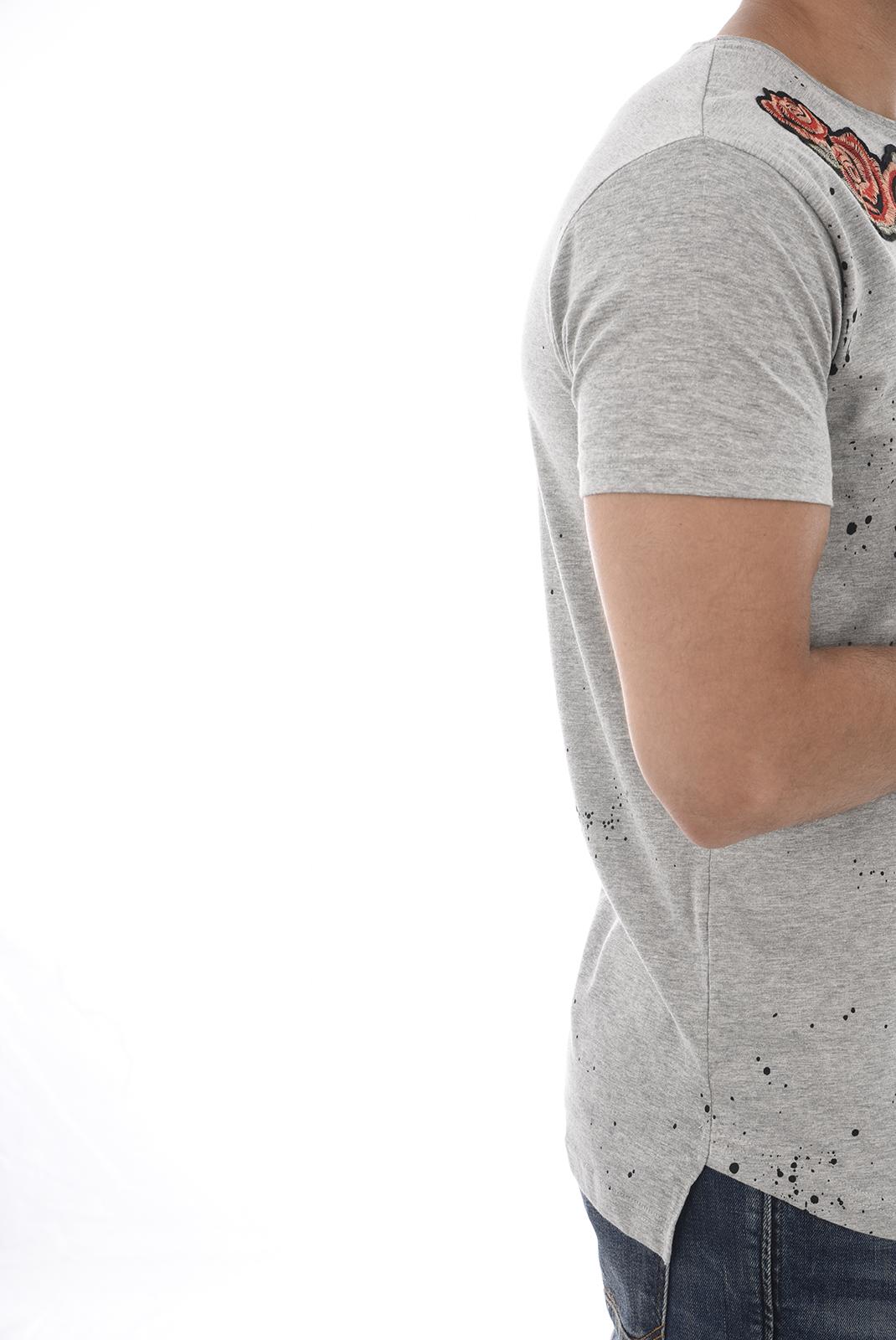 Tee-shirts  Hite couture MILBOPER LT GREY MEL
