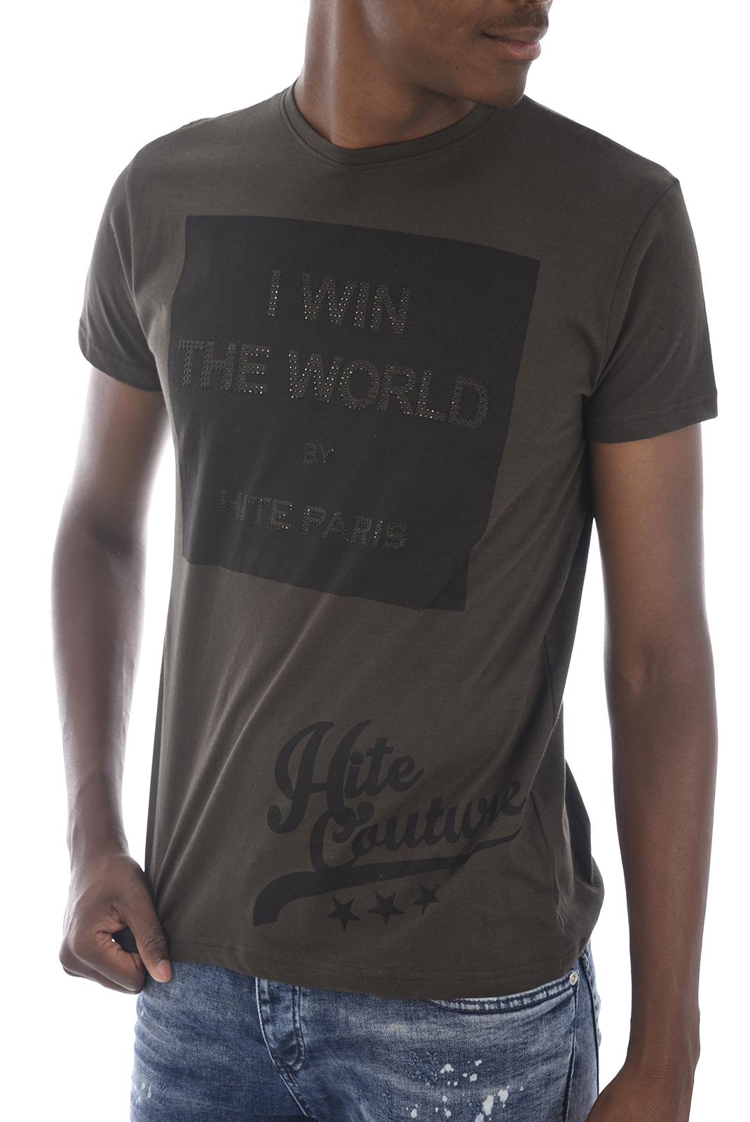 Tee-shirts  Hite couture MERIVER KAKI