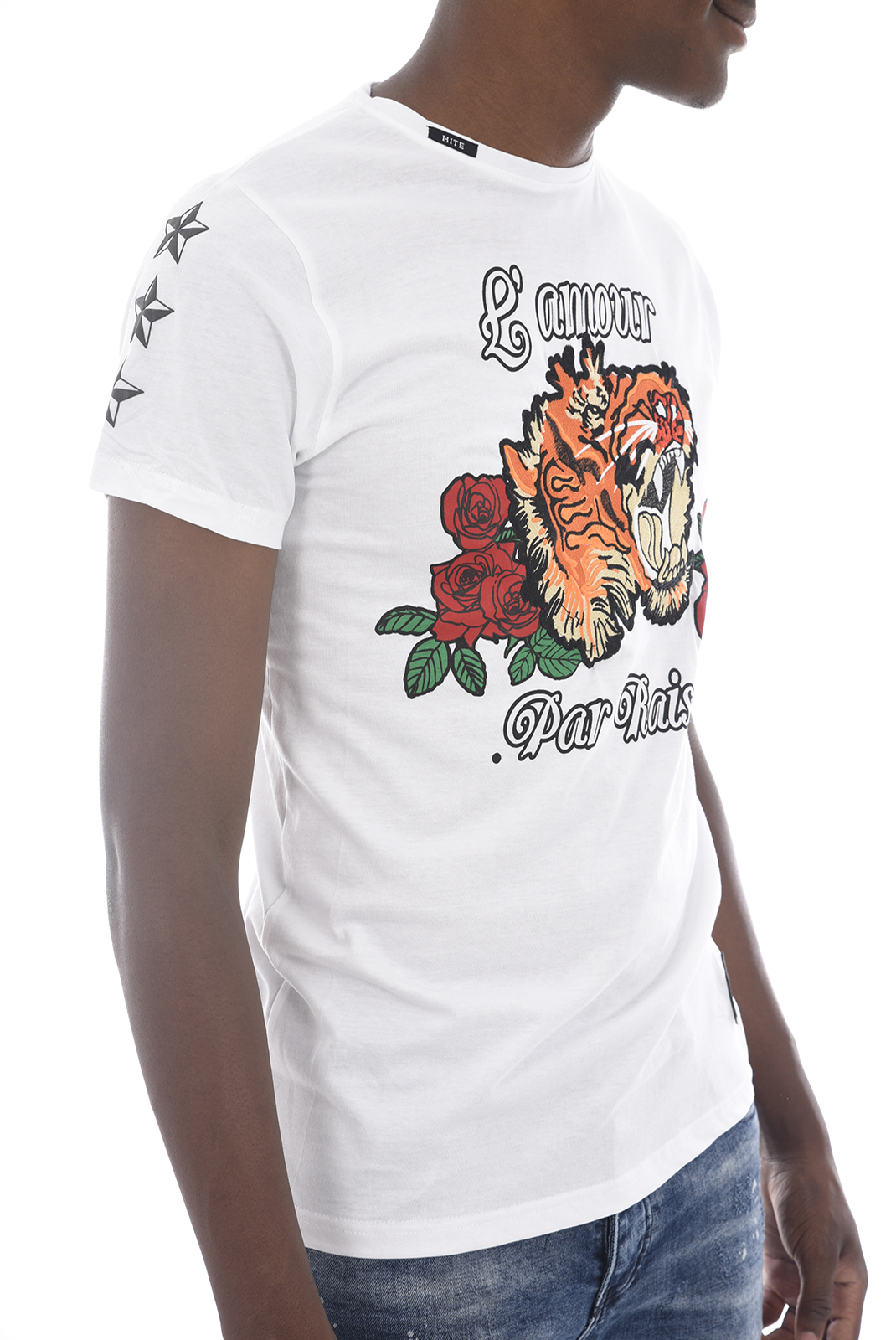 Tee-shirts  Hite couture MITRER BLANC