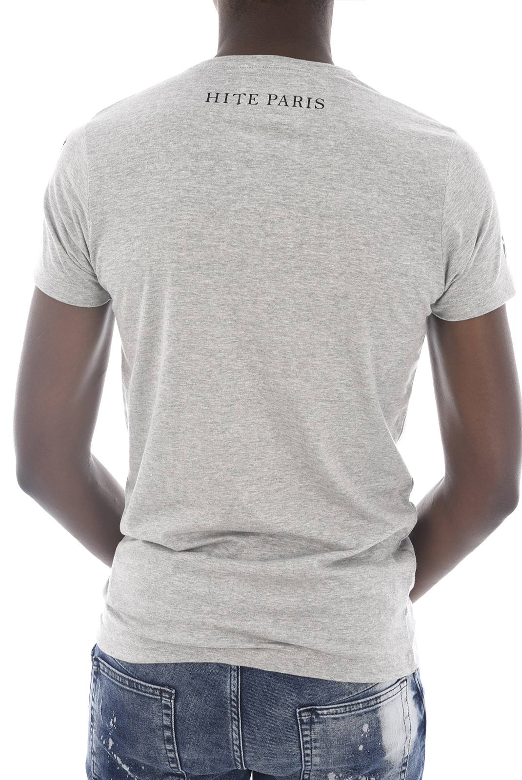 Tee-shirts  Hite couture MITRER GRIS