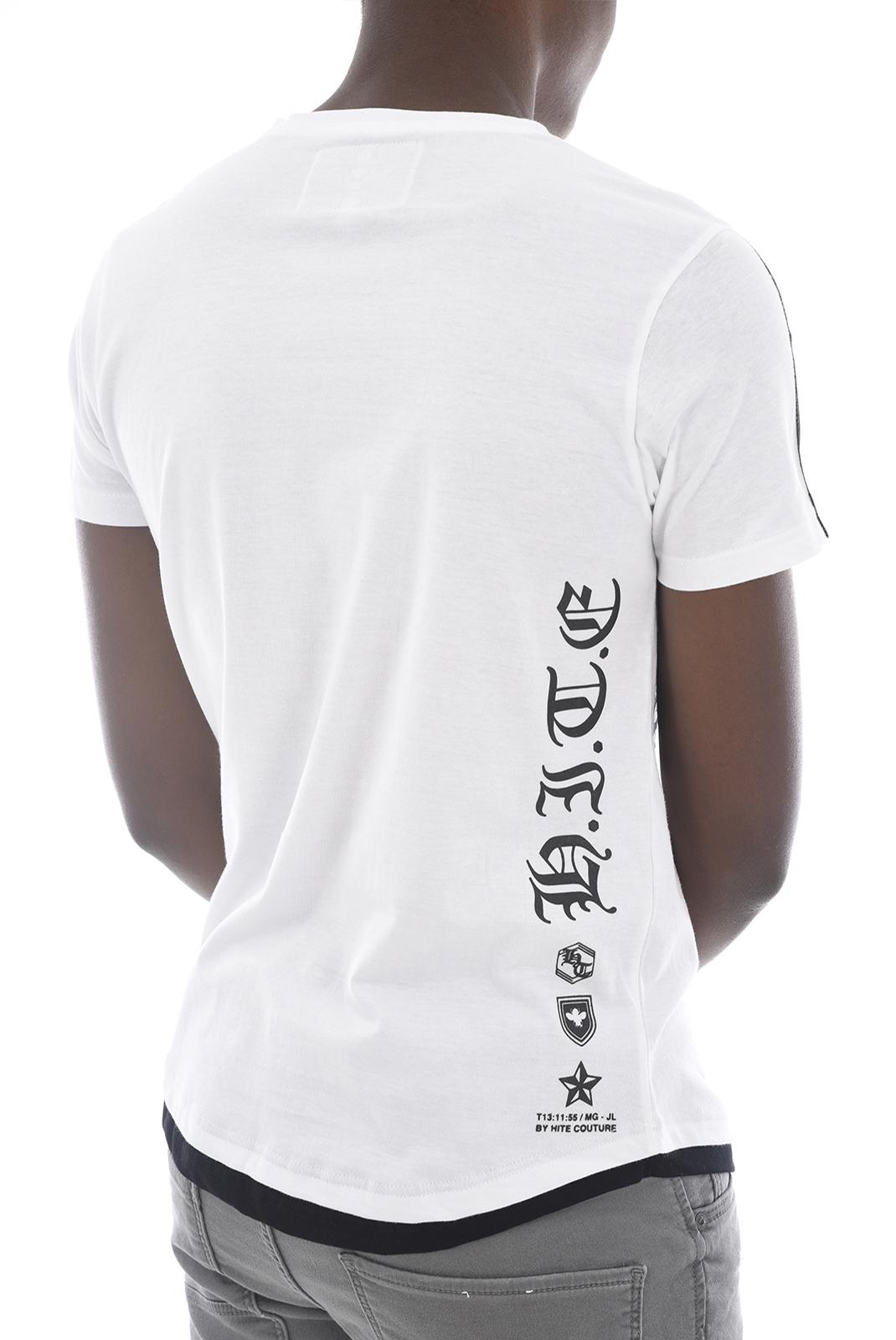 Tee-shirts  Hite couture MOBIER WHITE