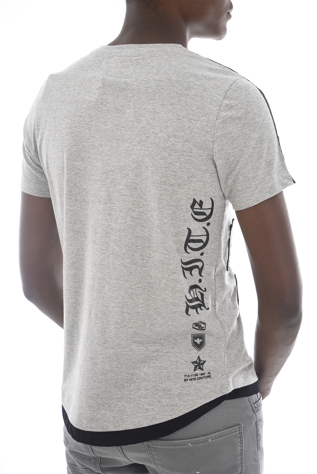Tee-shirts  Hite couture MOBIER GREY