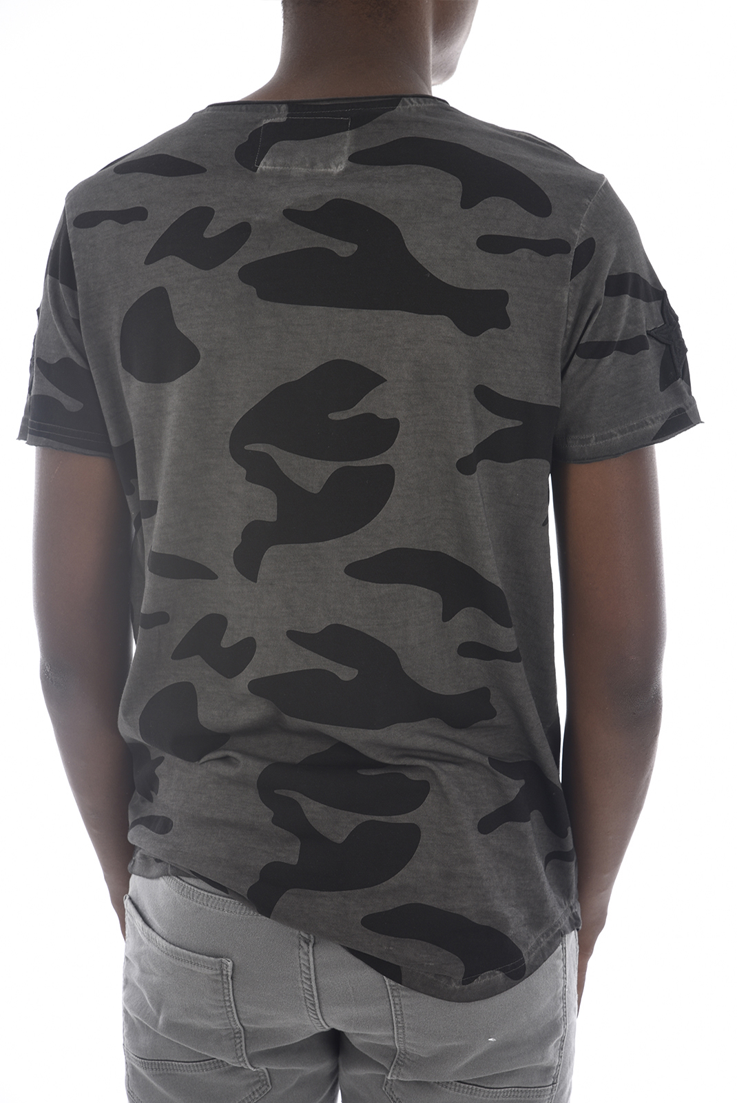 Tee-shirts  Hite couture MINIER CAMO ANTHRA
