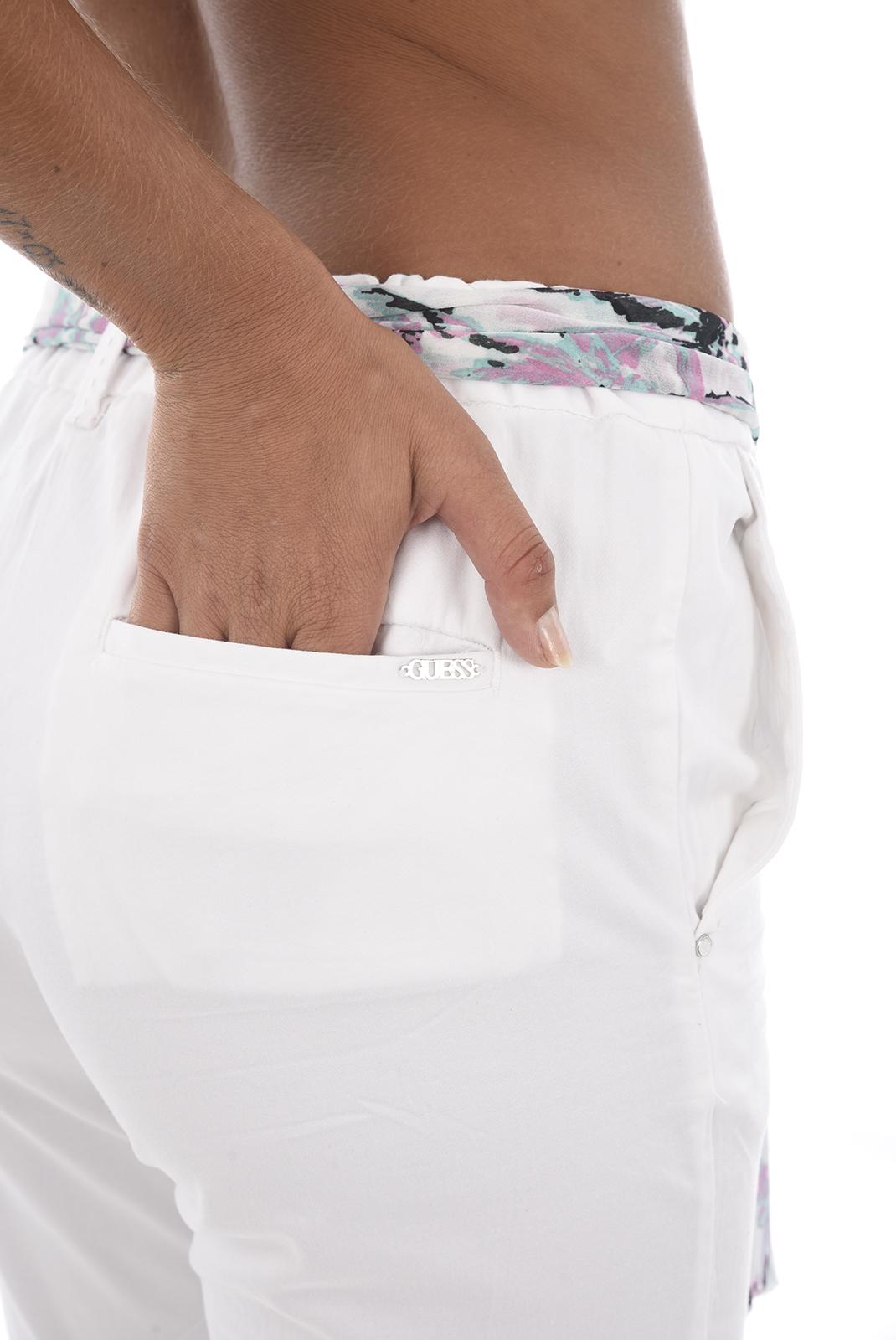 Pantalons  Guess jeans W82B12 WA0C0 A000 WHITE