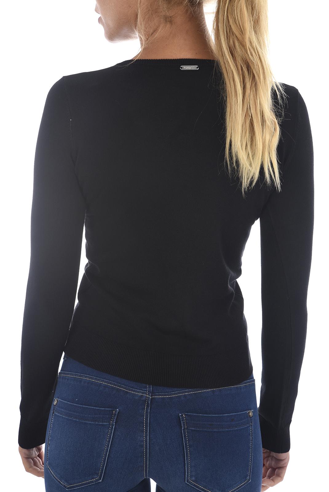 Gilet  Guess jeans W82R23 Z1ZP0 A996 JET BLACK