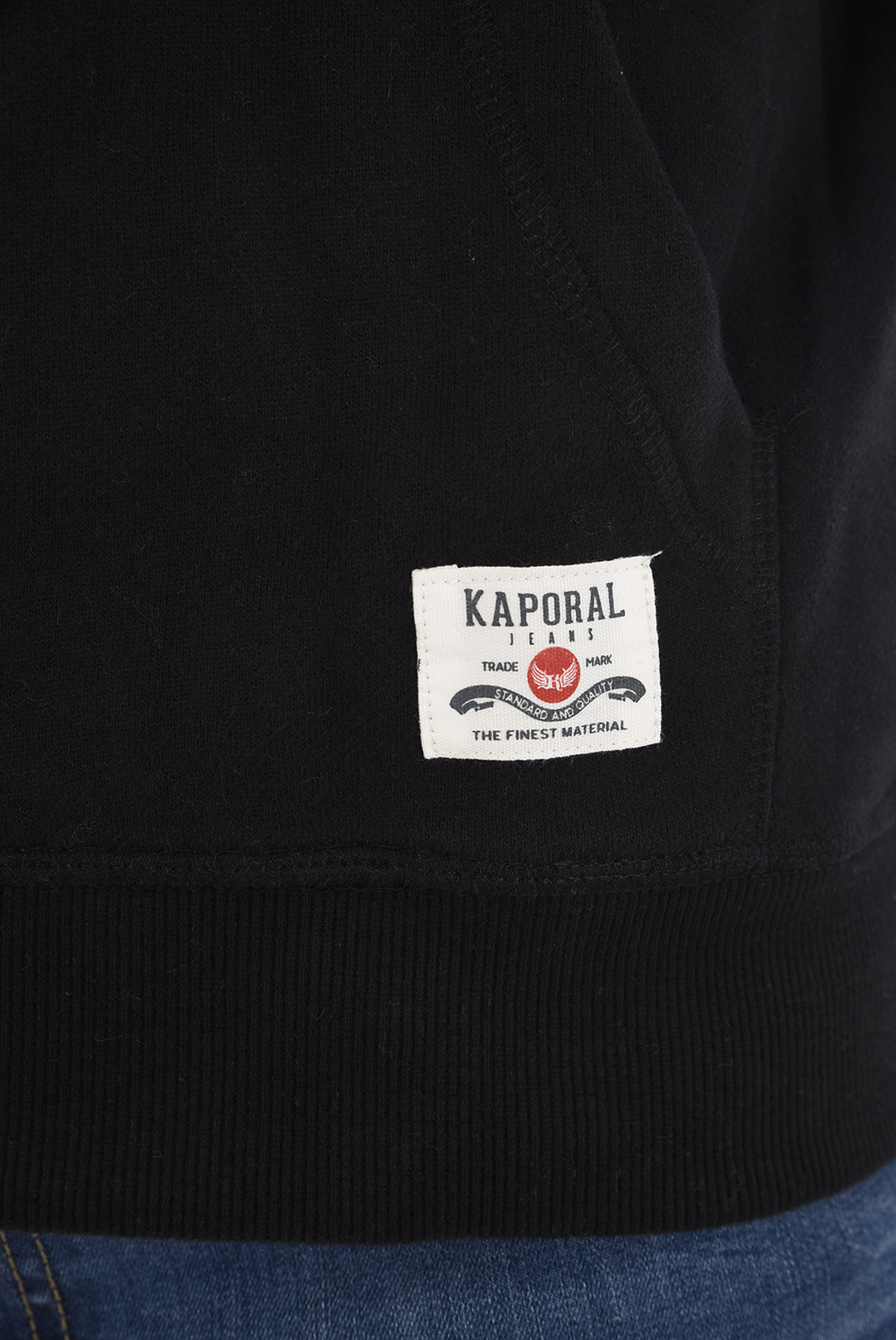 Pulls & Gilets  Kaporal BONZA H18M33 BLACK