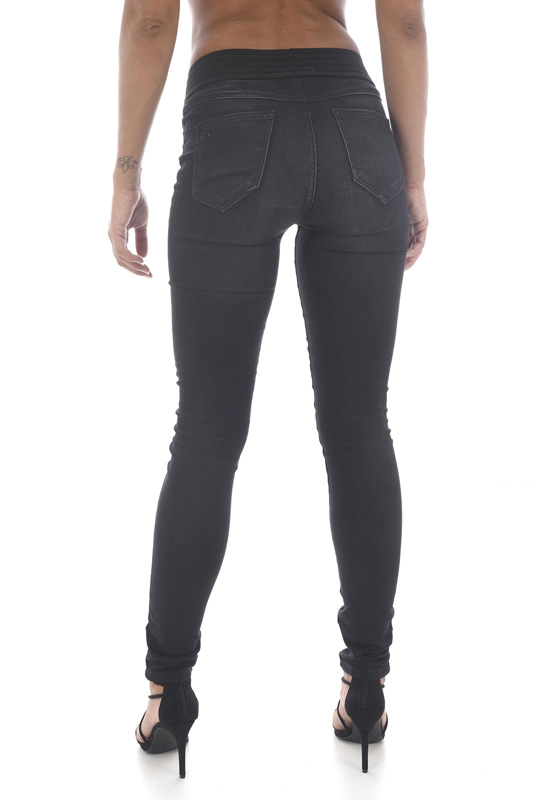 Jeans   Kaporal DORIA H18W7 BLUE BLACK
