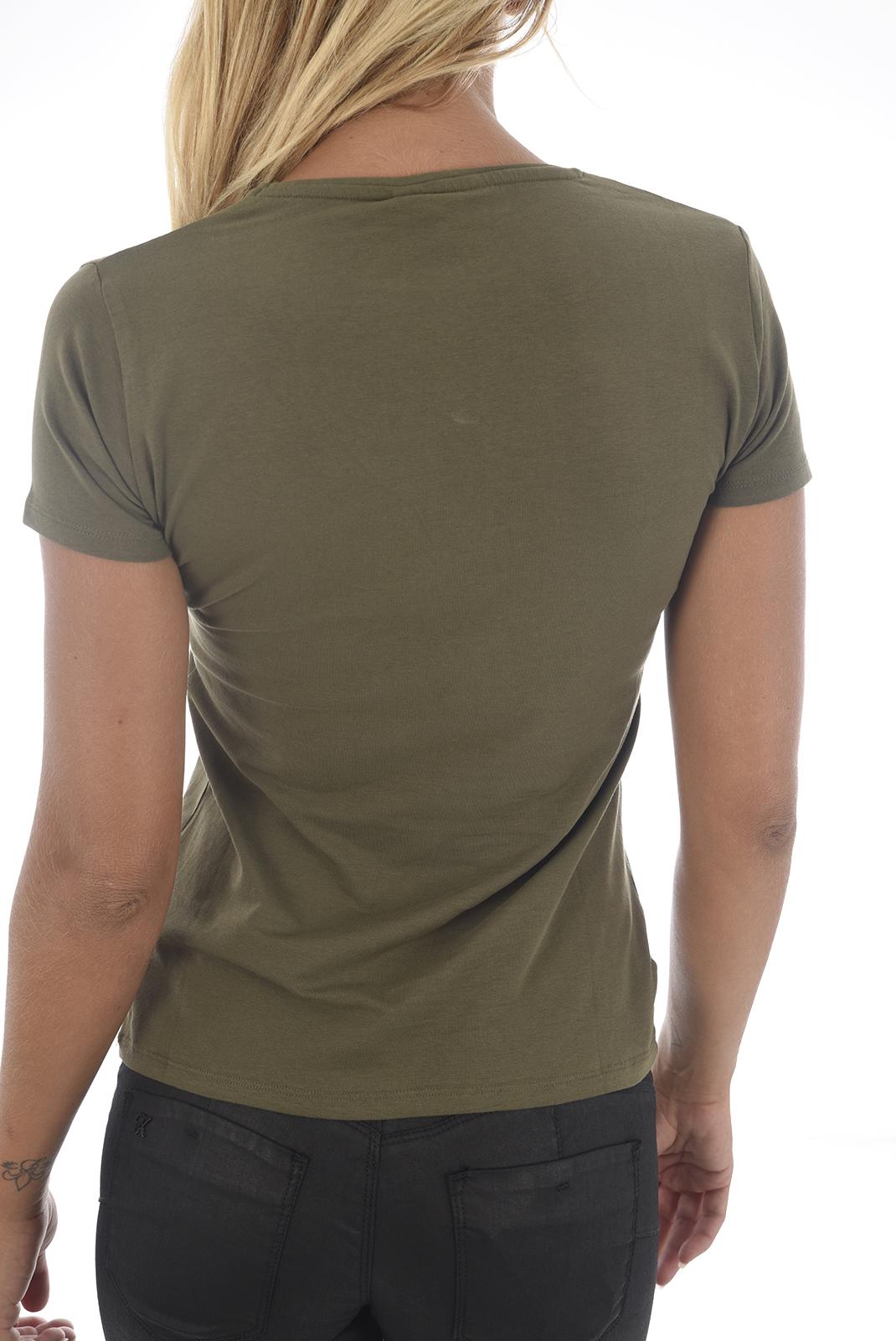 Tee shirt  Kaporal TINE H18W11 CAMP